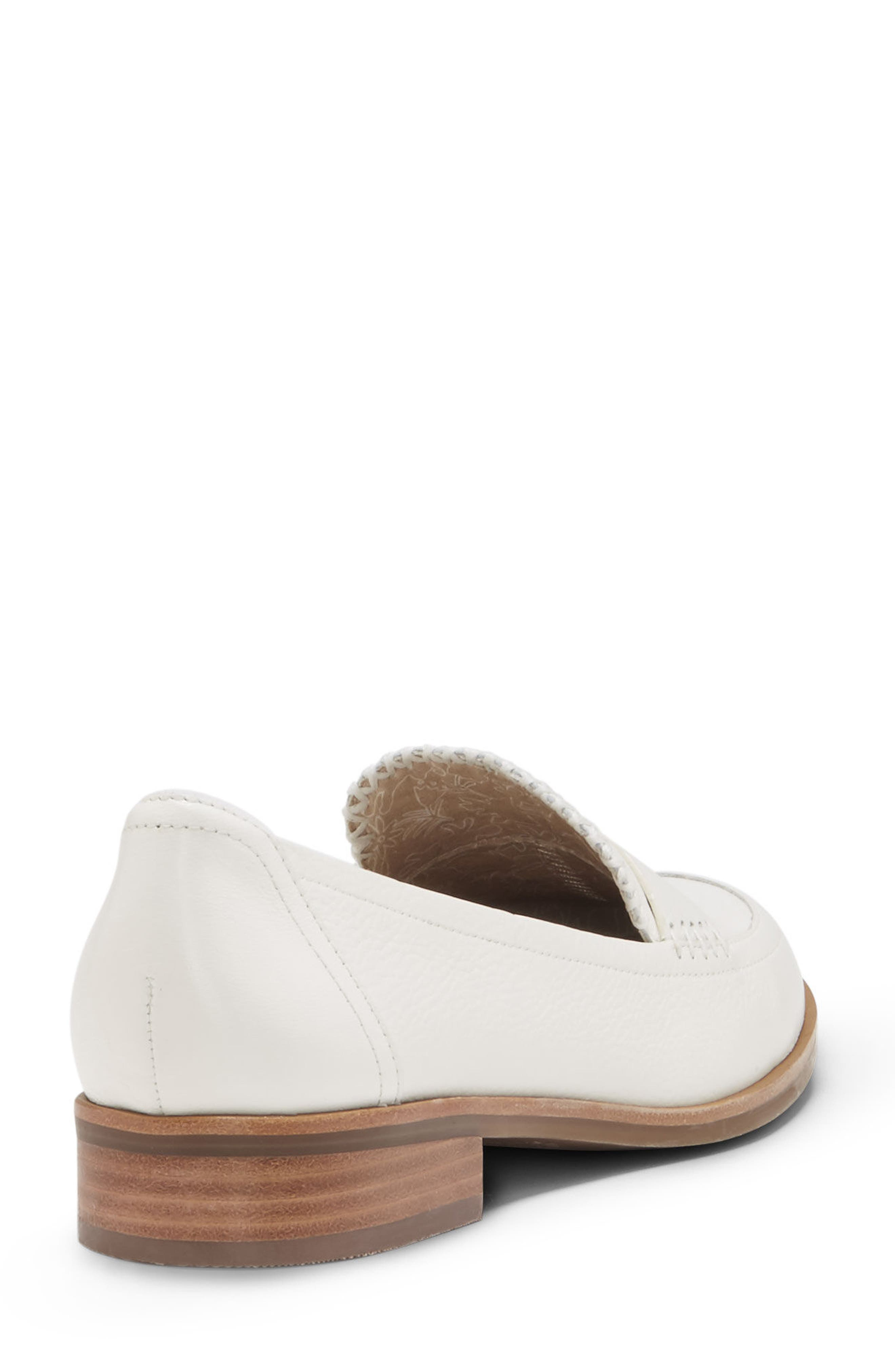 Laddie Loafer,                             Alternate thumbnail 2, color,                             MILK LEATHER