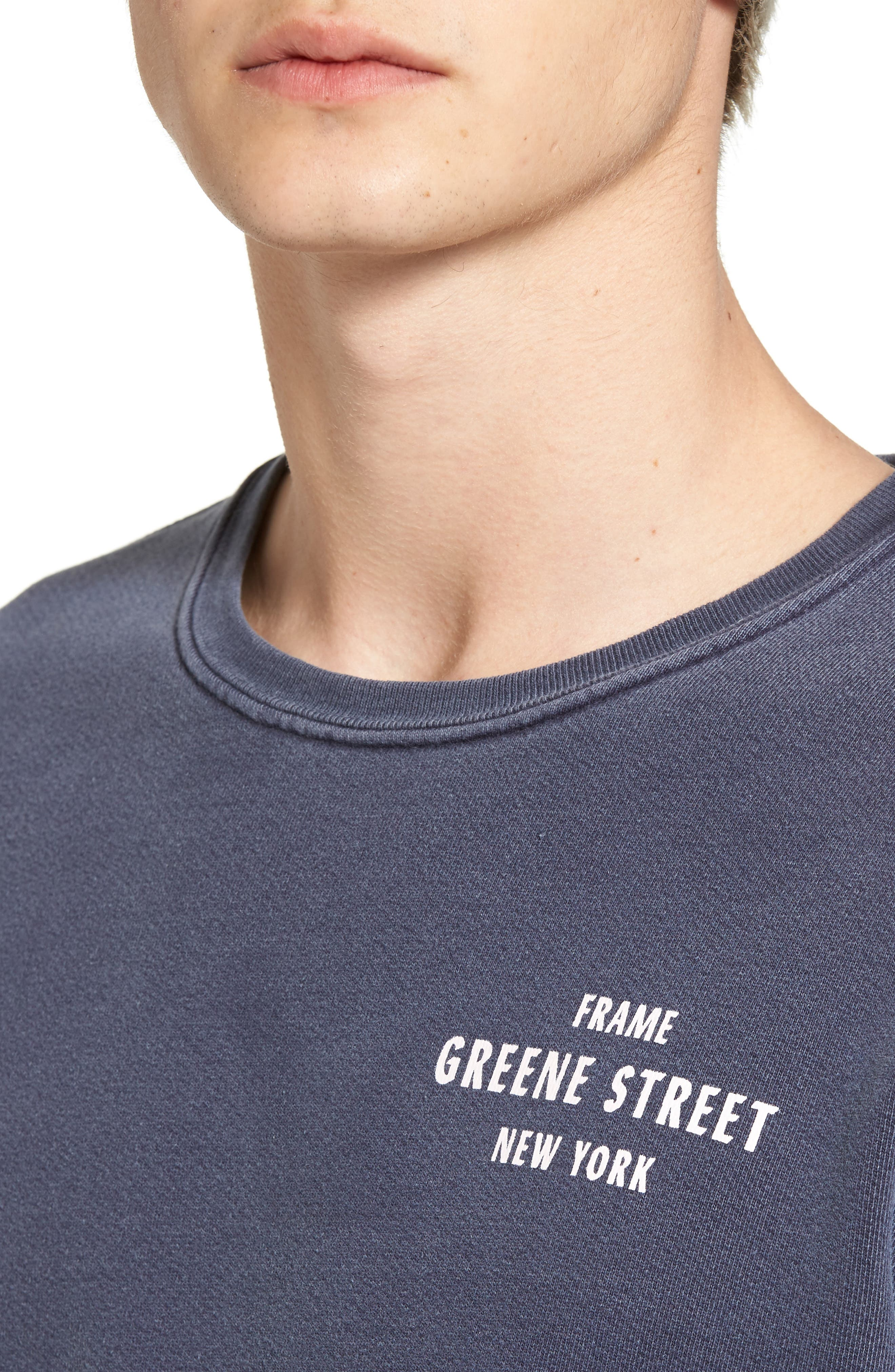 Vintage Crewneck Sweatshirt,                             Alternate thumbnail 11, color,