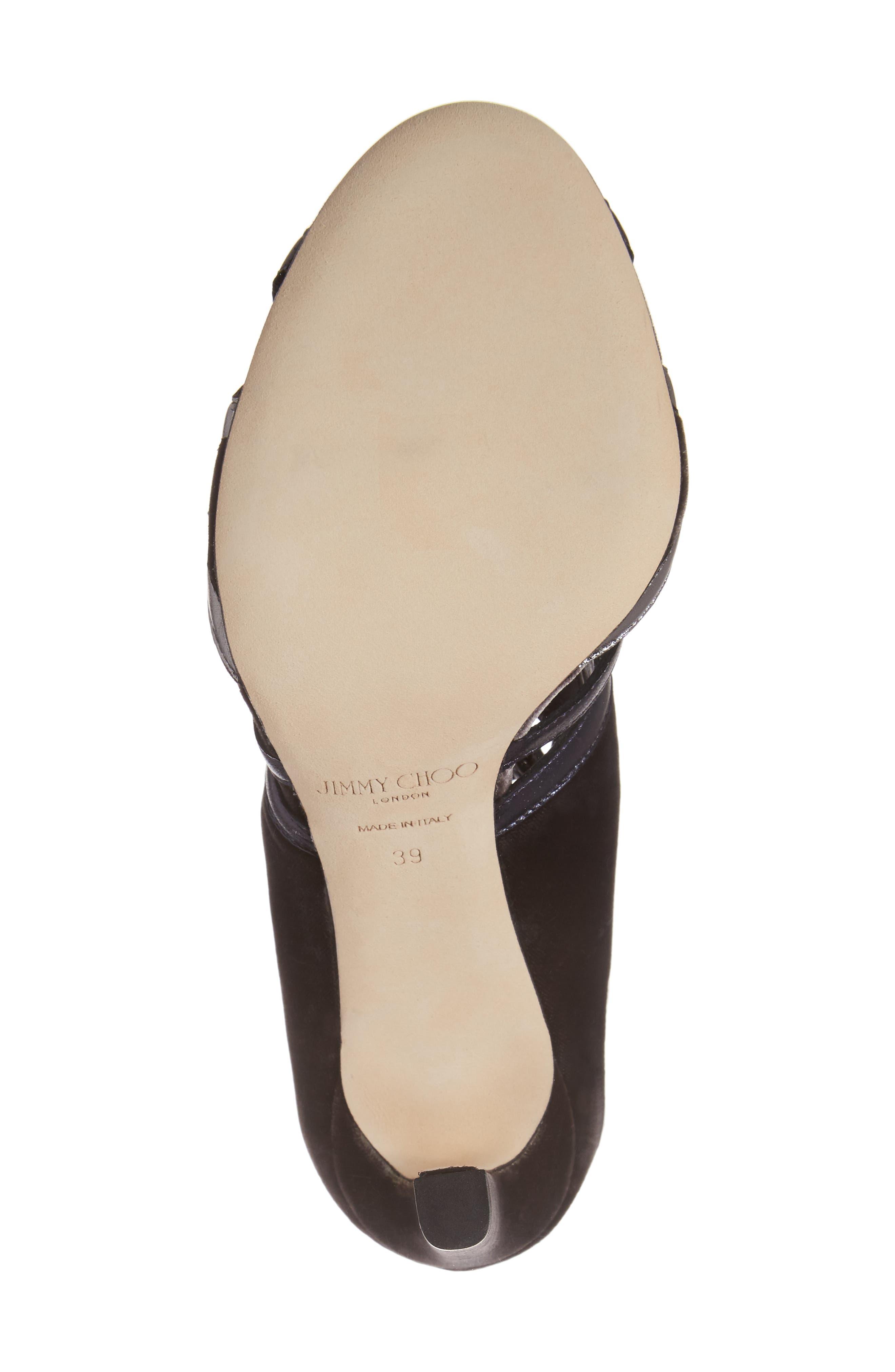 Denney Lace-Up Sandal,                             Alternate thumbnail 6, color,                             020