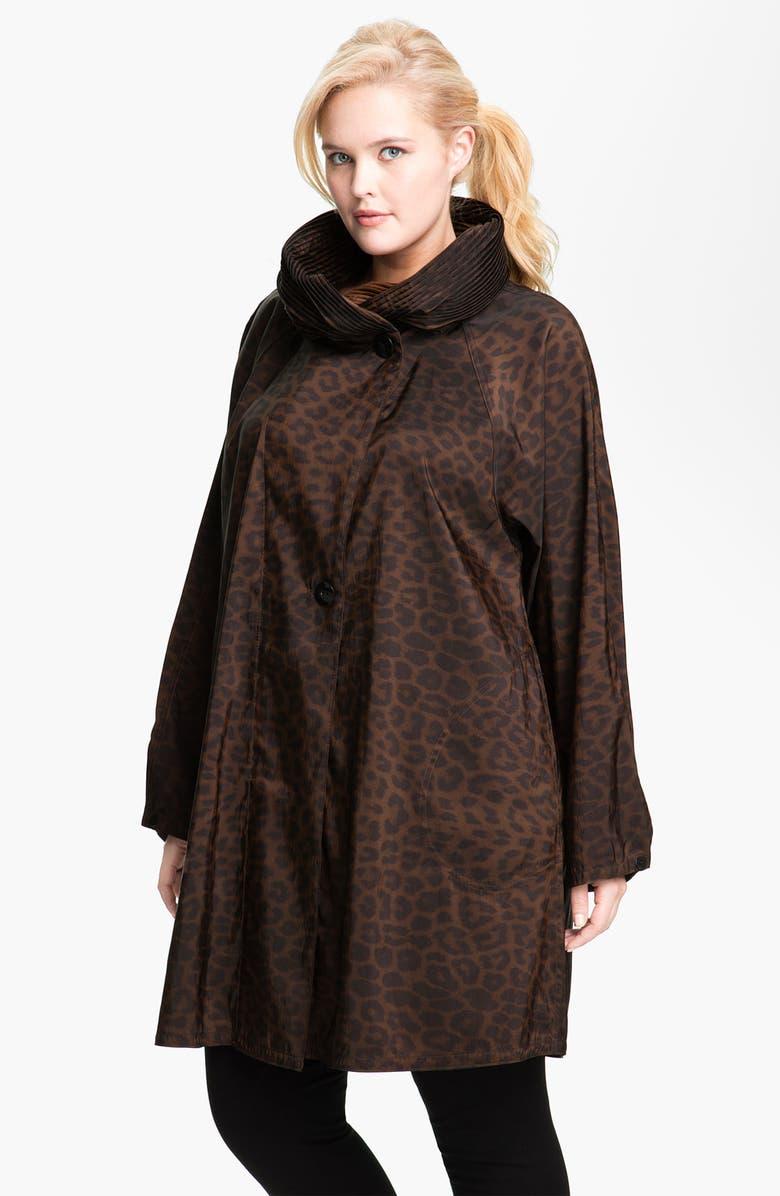 3296bd88c83a6 Mycra Pac Designer Wear  Donatella  Scrunch Neck Travel Coat ...