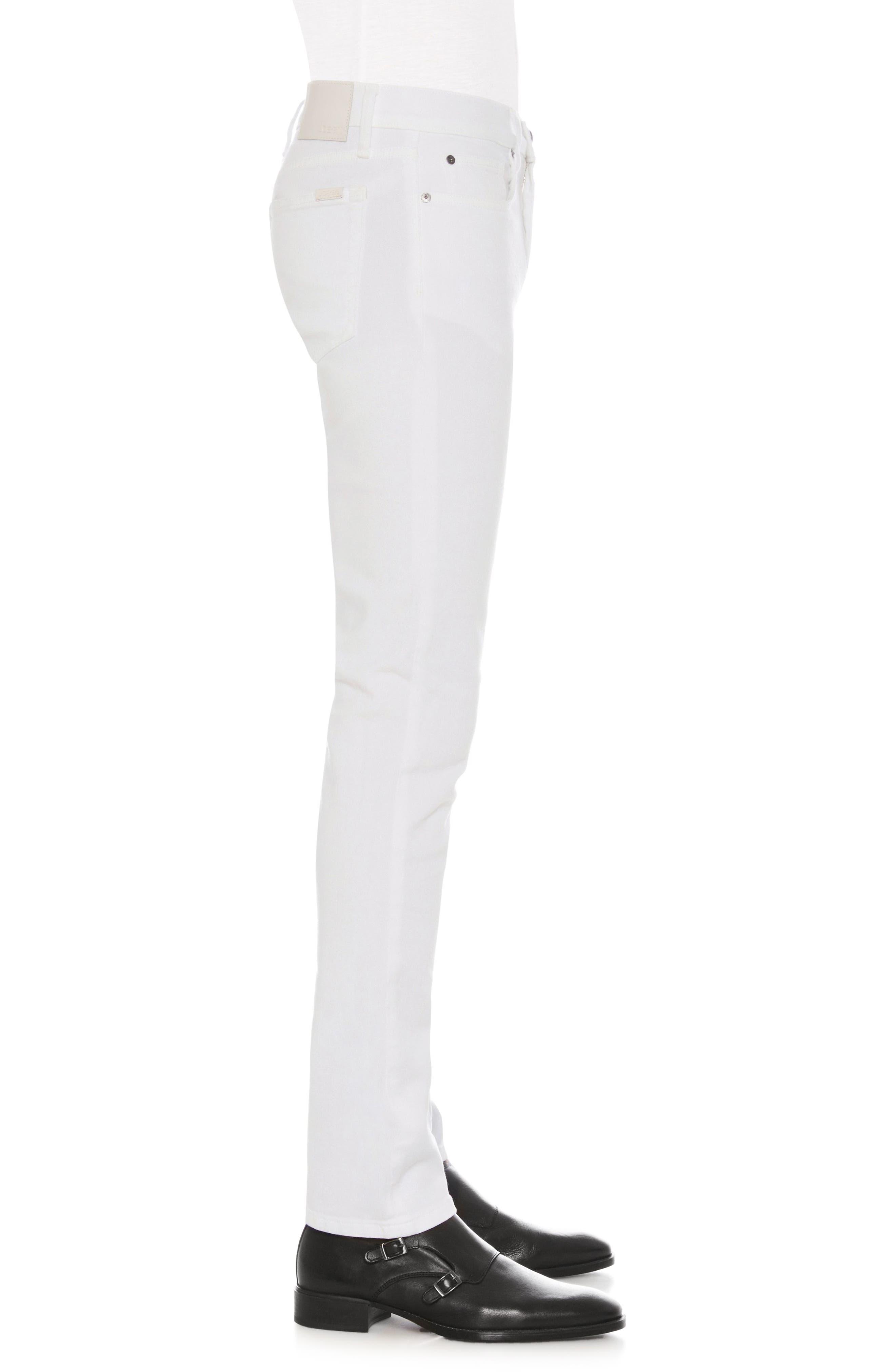 Brixton Slim Straight Leg Jeans,                             Alternate thumbnail 3, color,                             100