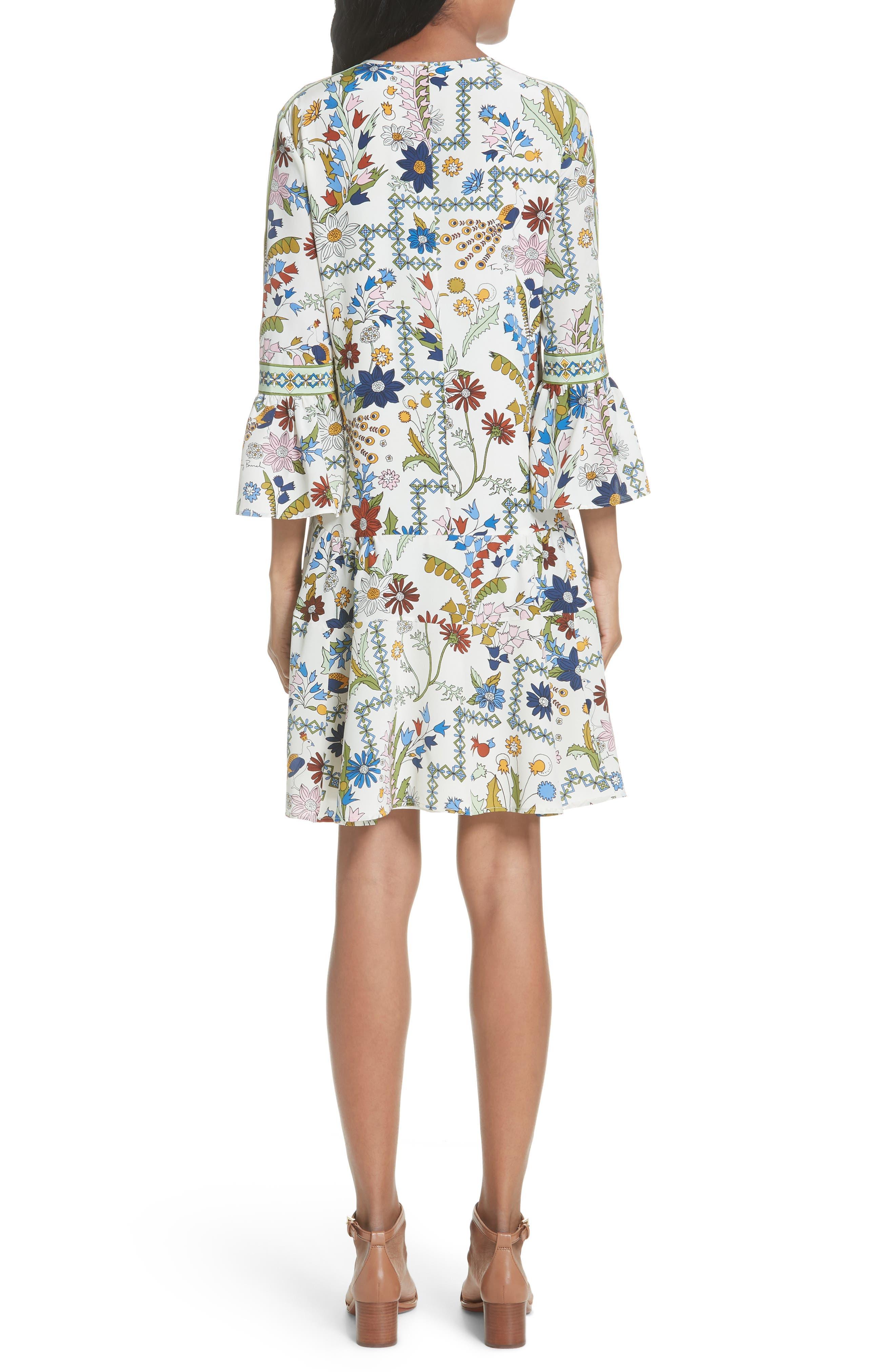 Daphne Silk Shift Dress,                             Alternate thumbnail 2, color,