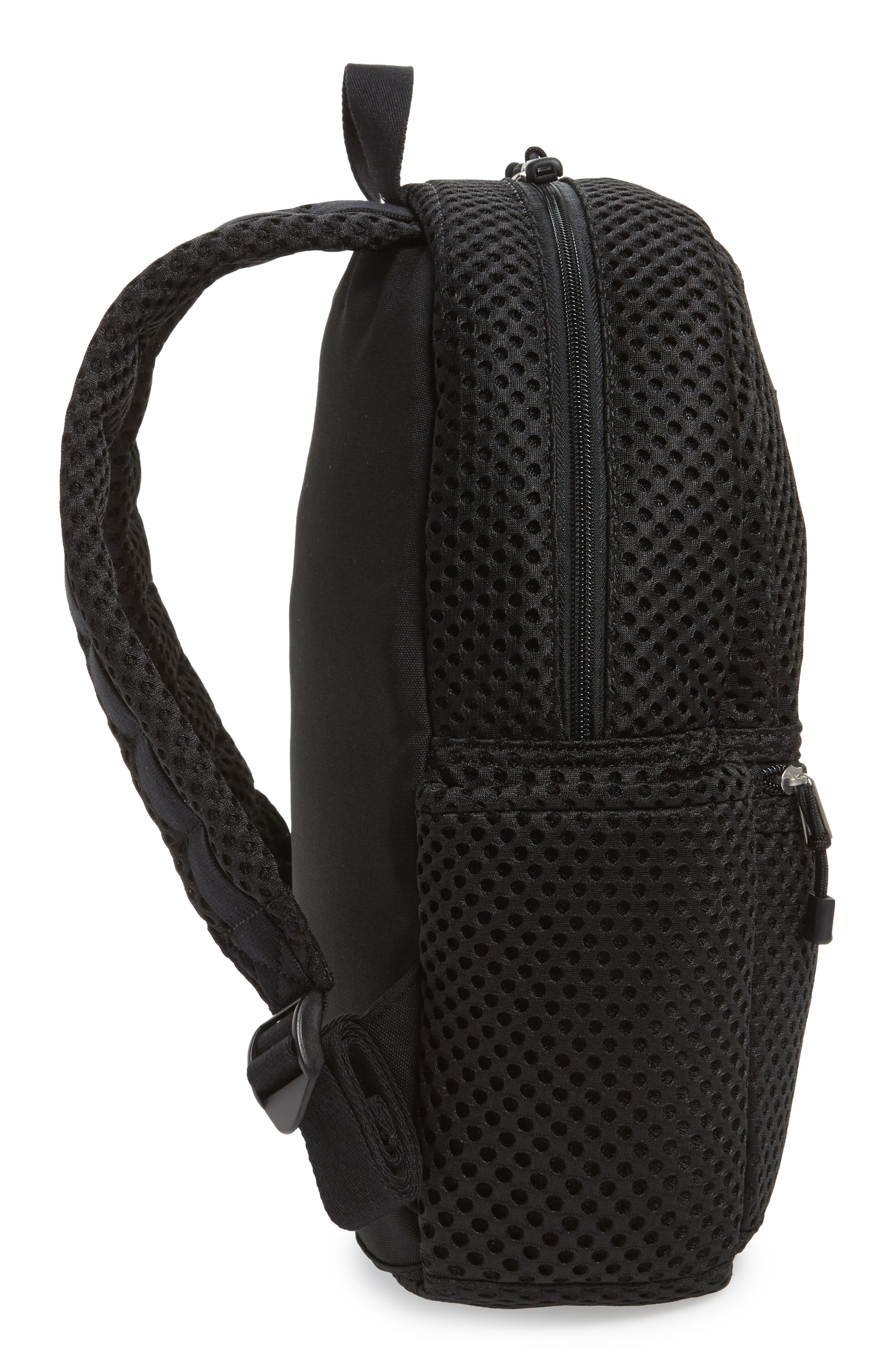 Lacrosse Mesh Kane Backpack,                             Alternate thumbnail 5, color,                             001