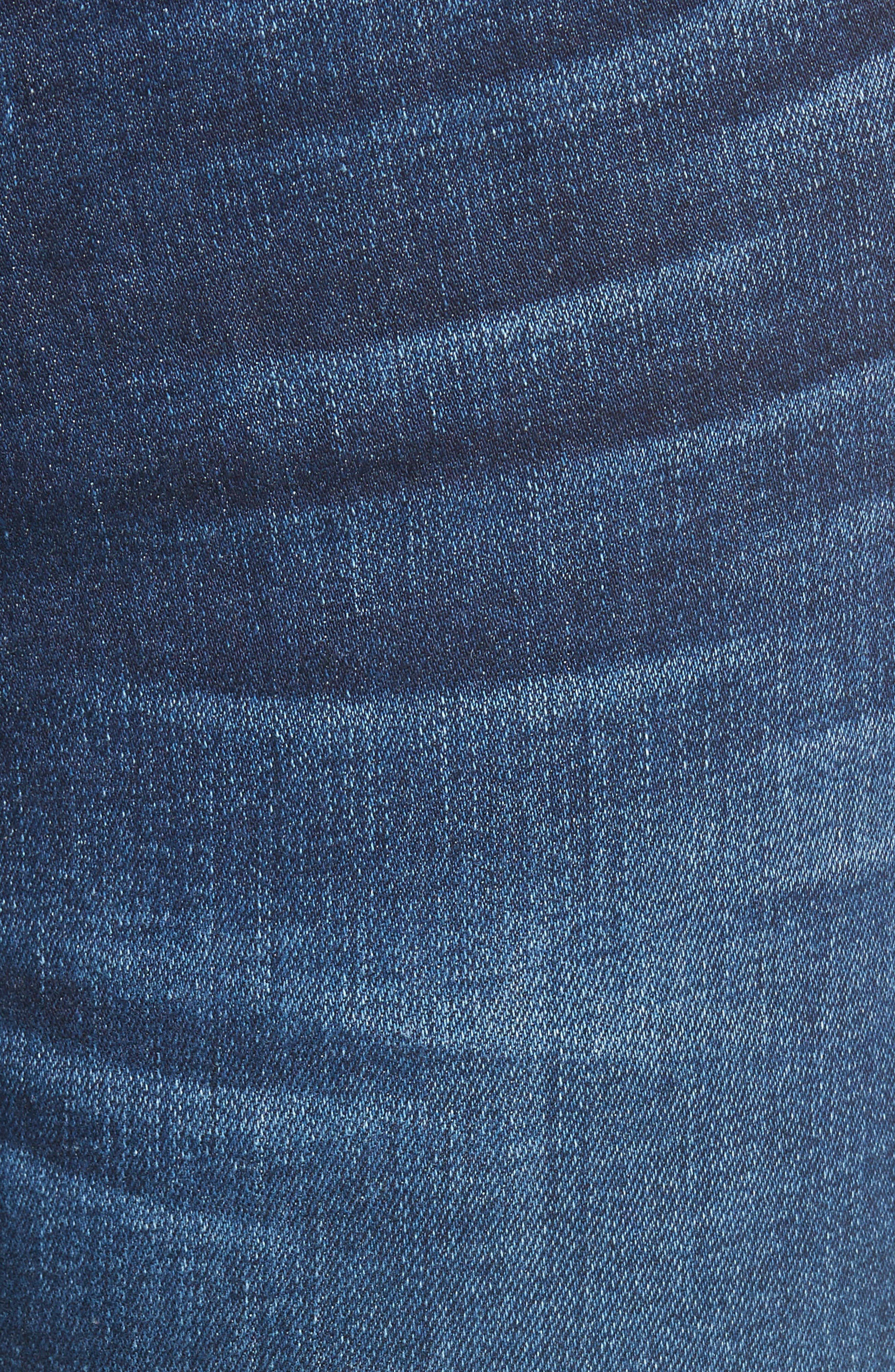 Emma Ankle Zip Skinny Jeans,                             Alternate thumbnail 5, color,                             400