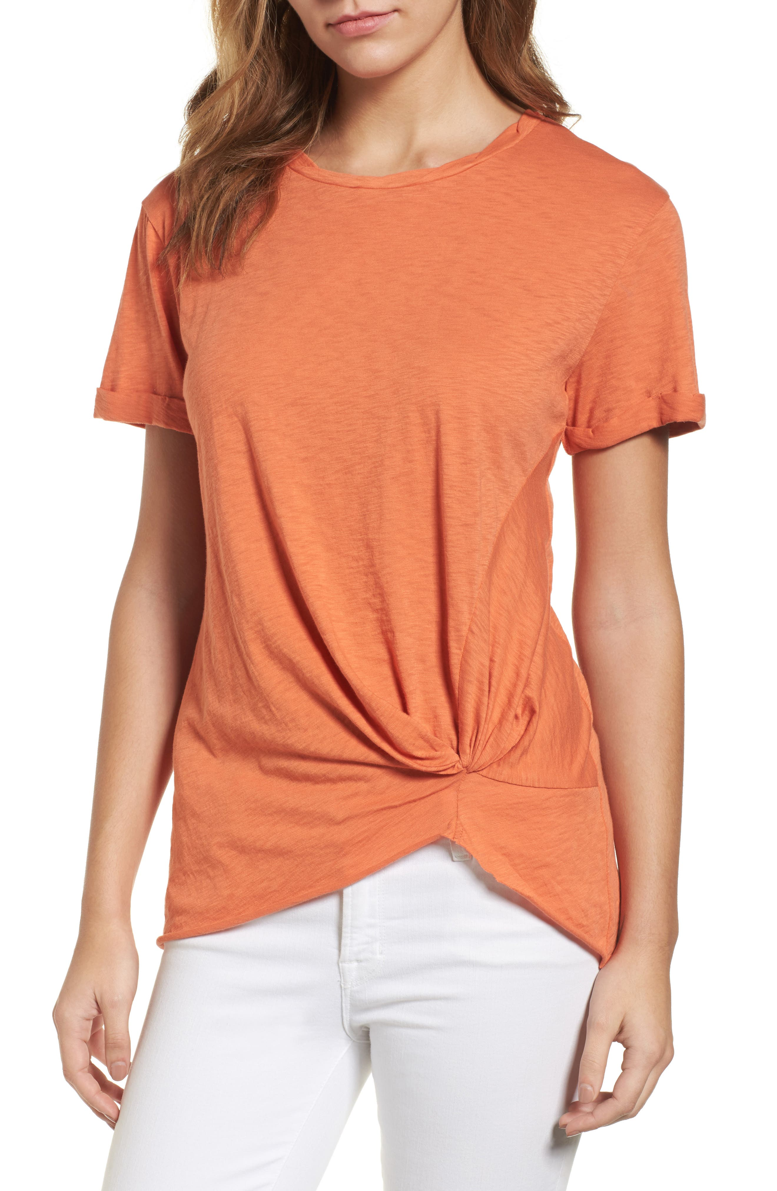 Knotted Tee,                             Main thumbnail 11, color,