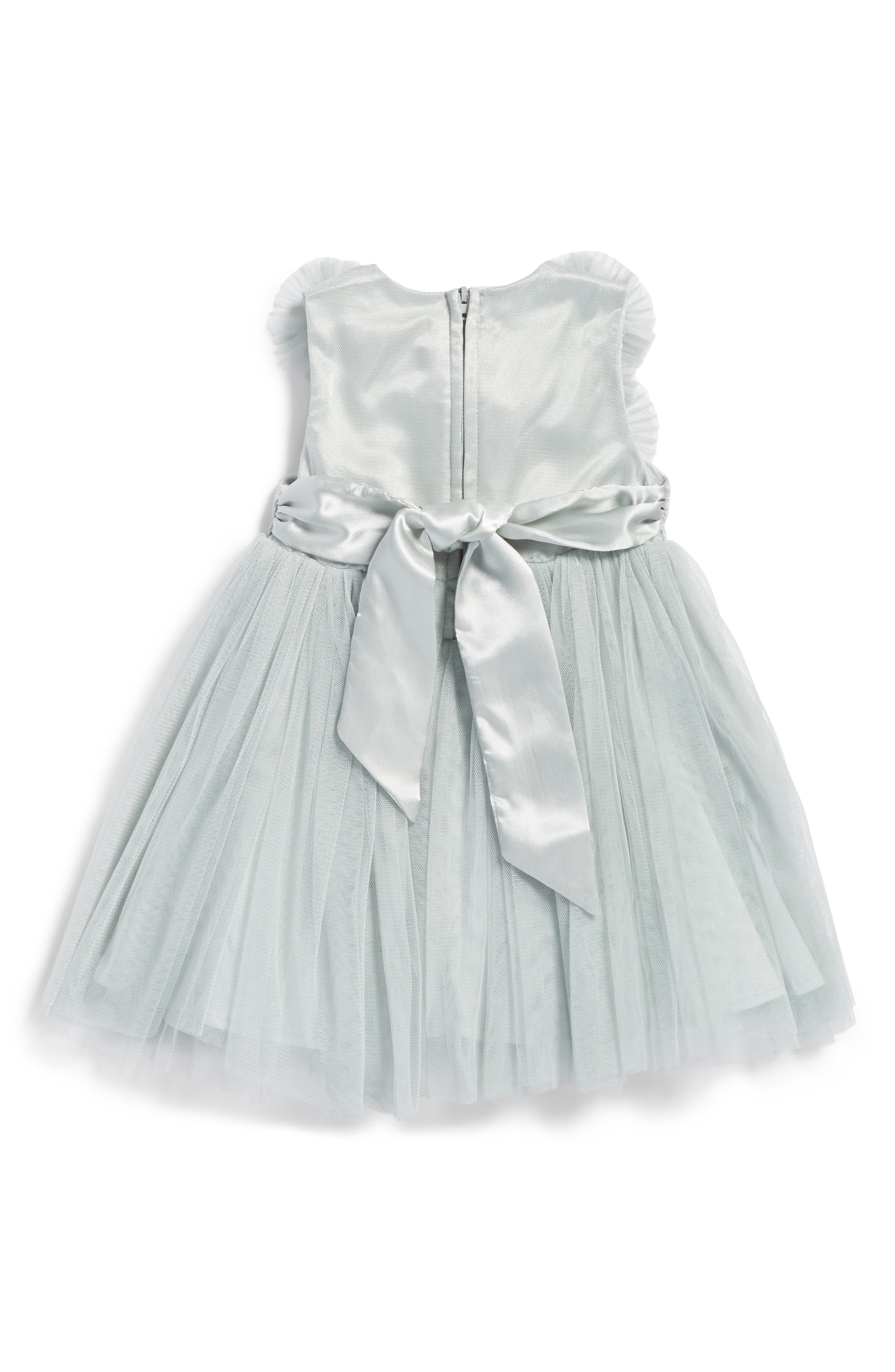 Empire Waist Tulle Dress,                             Alternate thumbnail 2, color,                             325