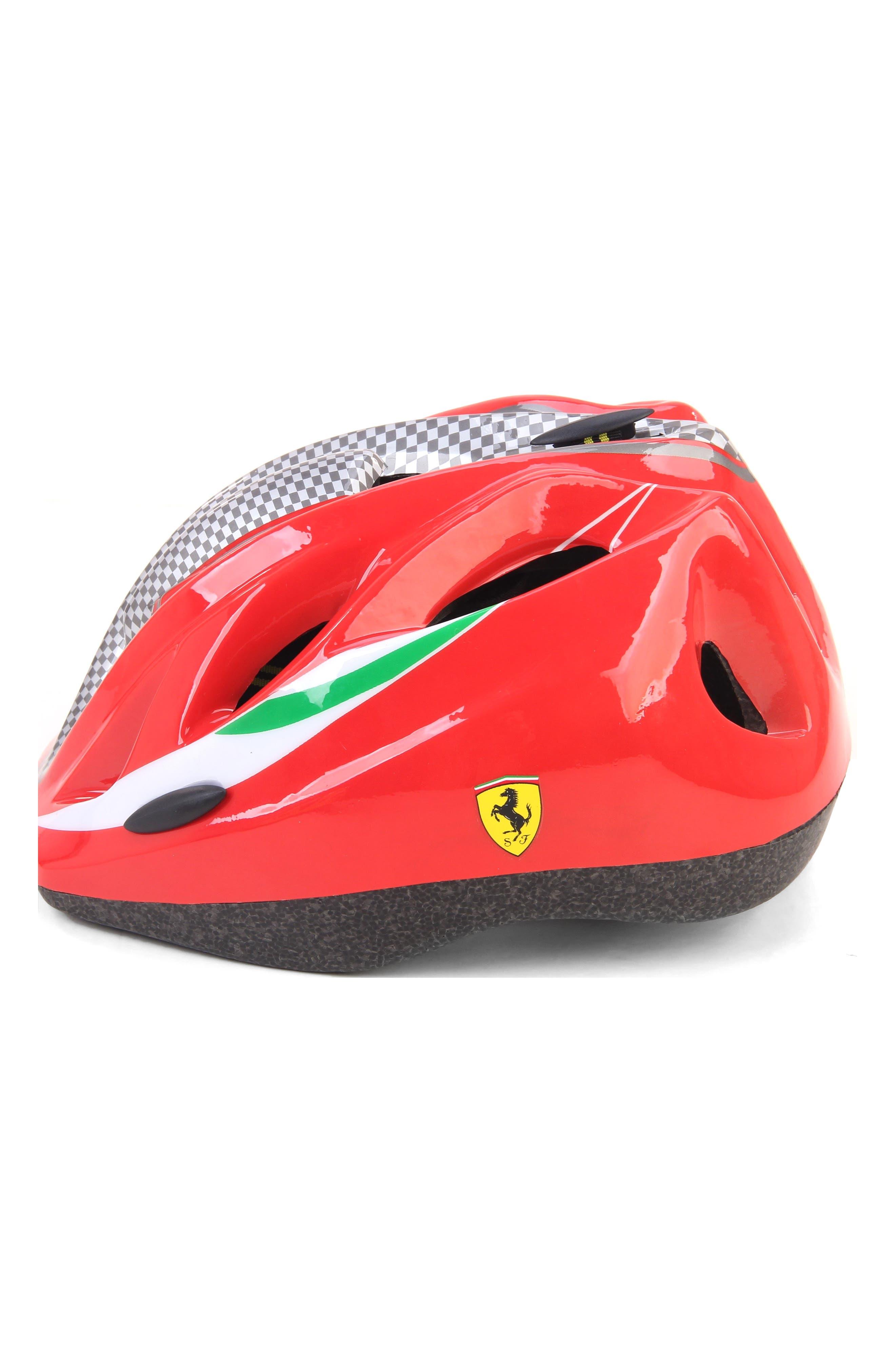 Kid's Helmet,                             Alternate thumbnail 2, color,                             RED
