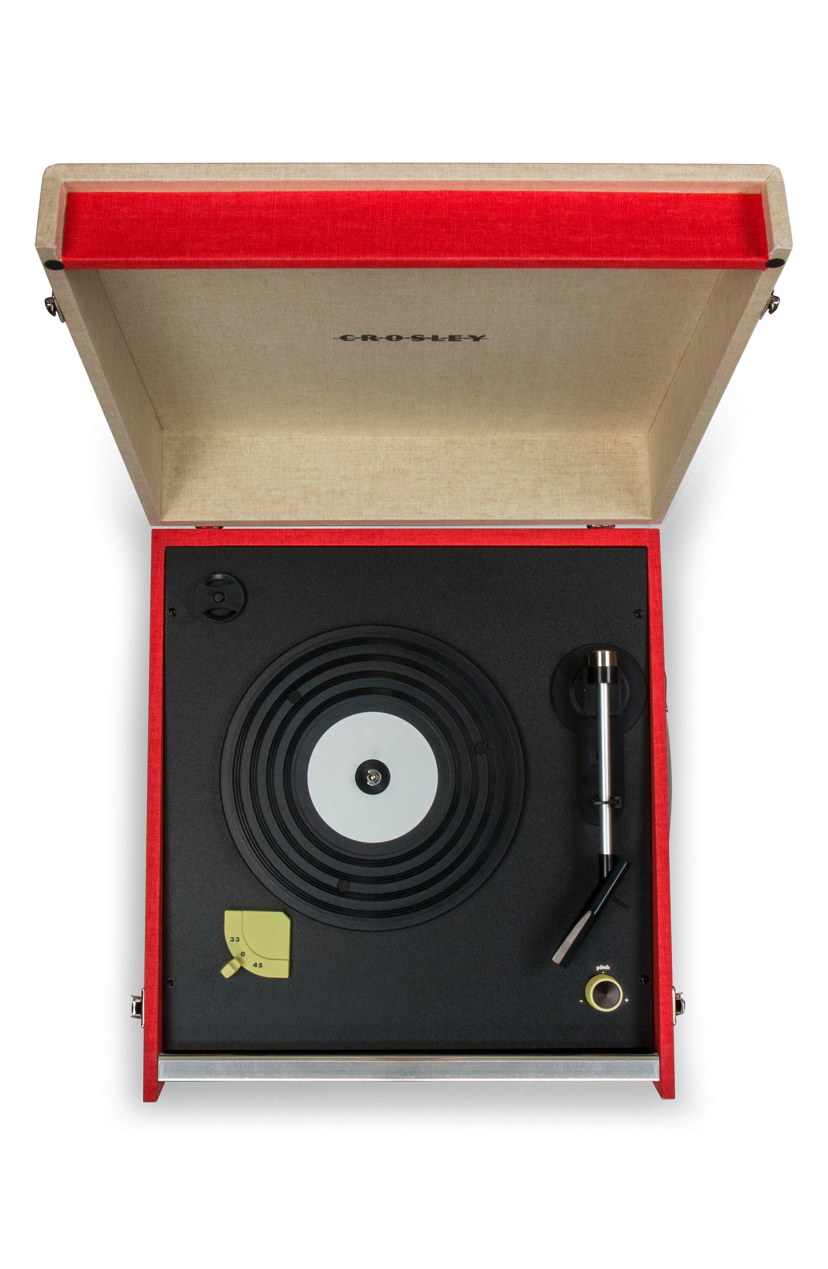Dansette Bermuda Bluetooth Turntable,                             Alternate thumbnail 4, color,                             600