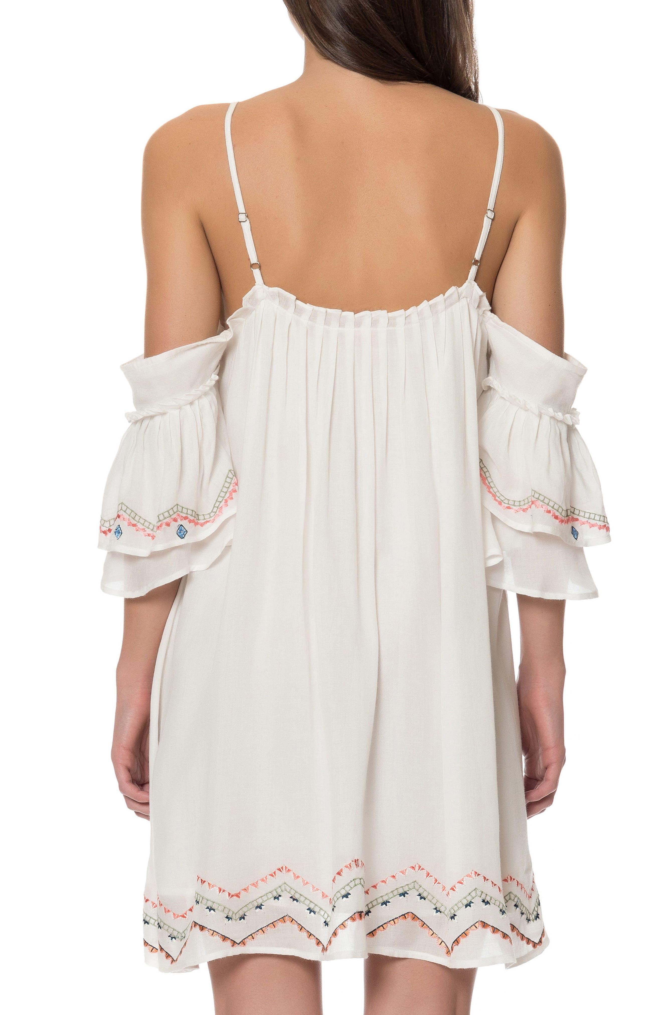 Naples Cold Shoulder Dress,                             Alternate thumbnail 2, color,