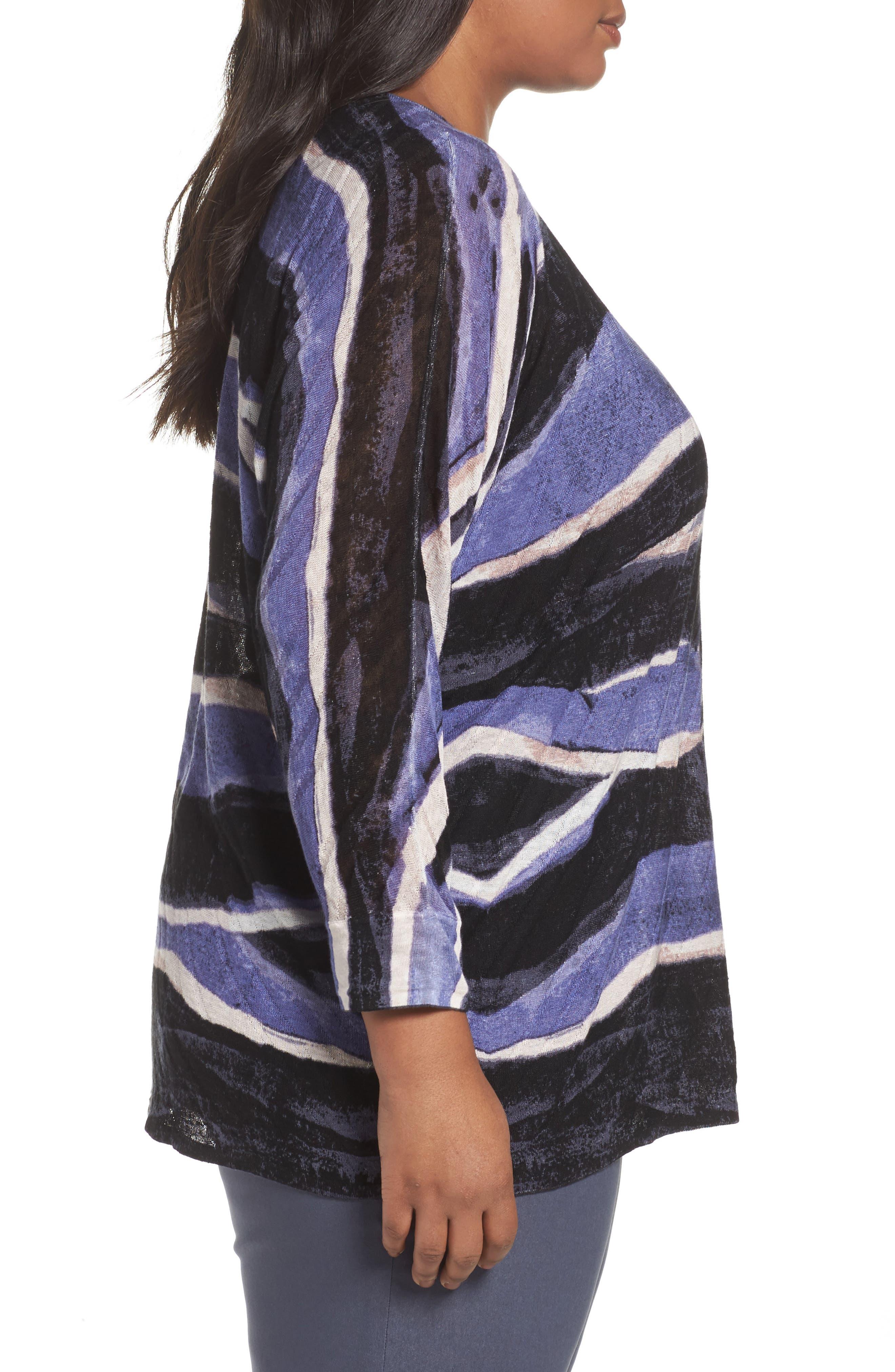 Sierra Sweater,                             Alternate thumbnail 3, color,                             BLUE MULTI