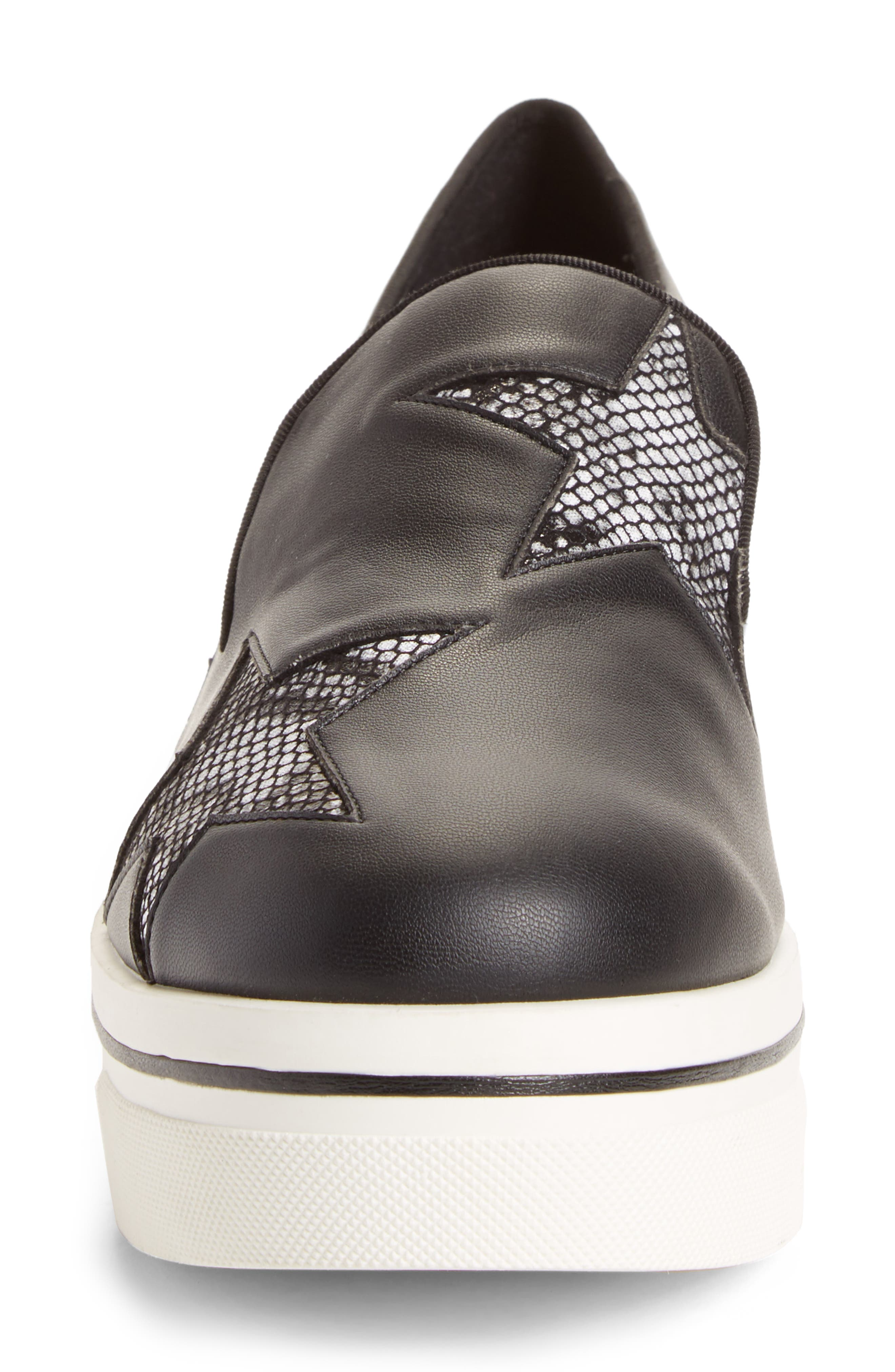 Binx Stars Platform Sneaker,                             Alternate thumbnail 4, color,                             001