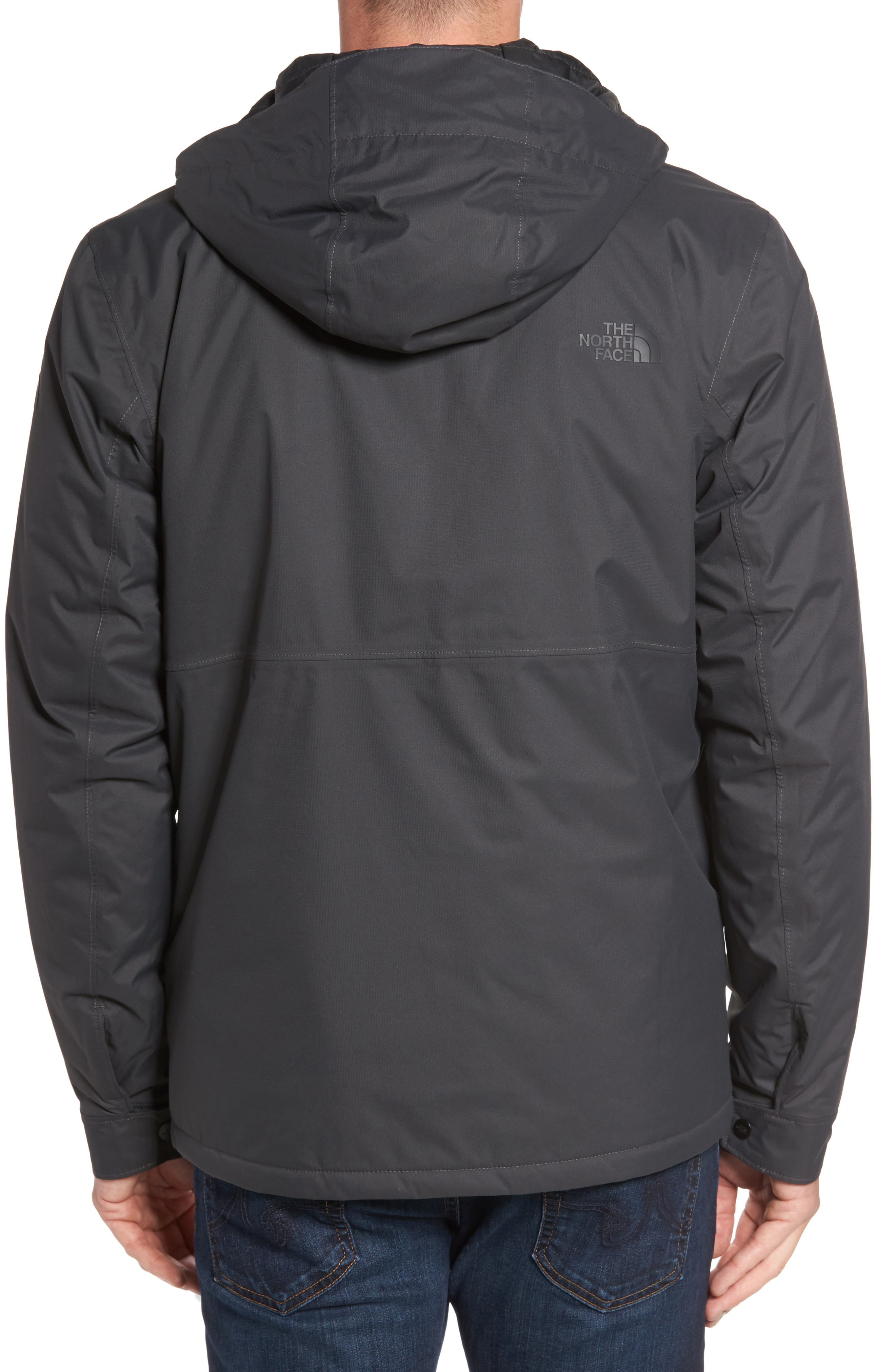 Jenison Insulated Waterproof Jacket,                             Alternate thumbnail 4, color,