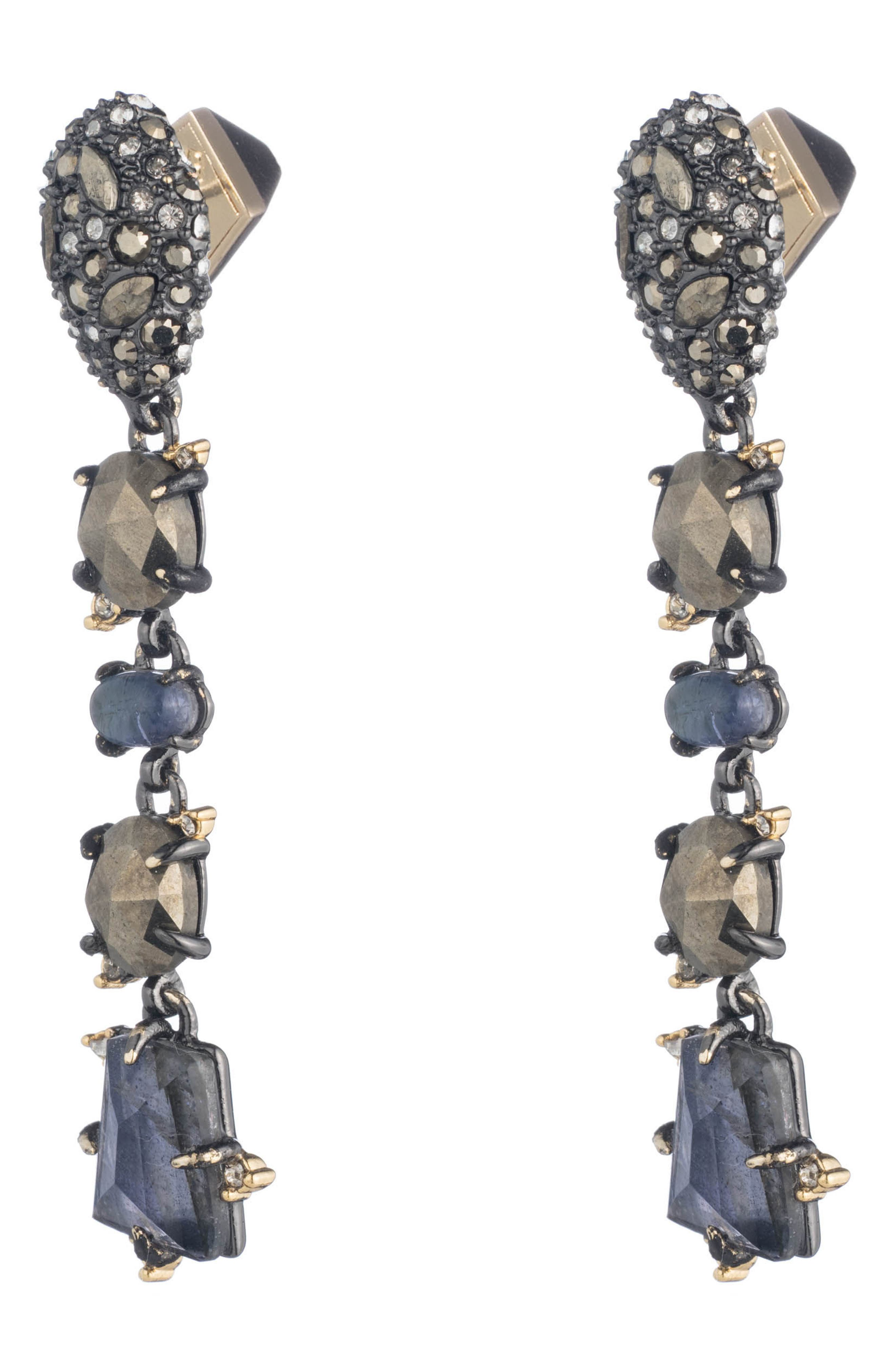 Elements Linear Earrings,                             Alternate thumbnail 2, color,                             710