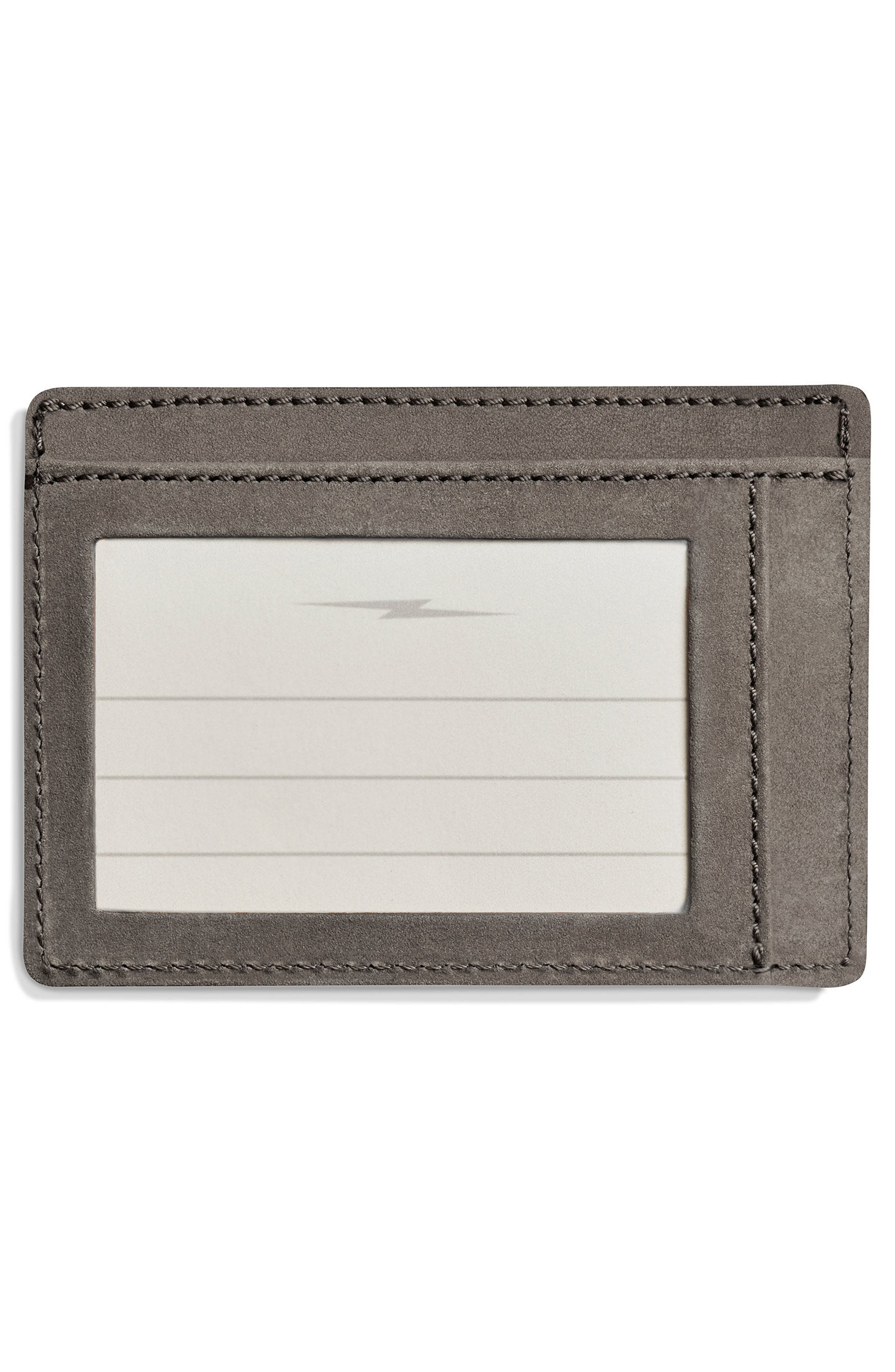 SHINOLA,                             Outrigger ID Leather Card Case,                             Alternate thumbnail 2, color,                             020