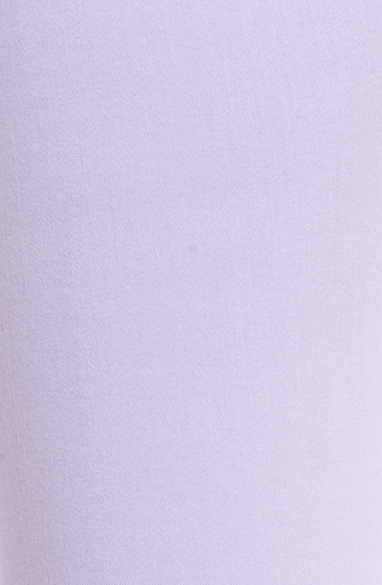 The Ankle Skinny Jeans,                             Alternate thumbnail 6, color,                             SOFT LILAC