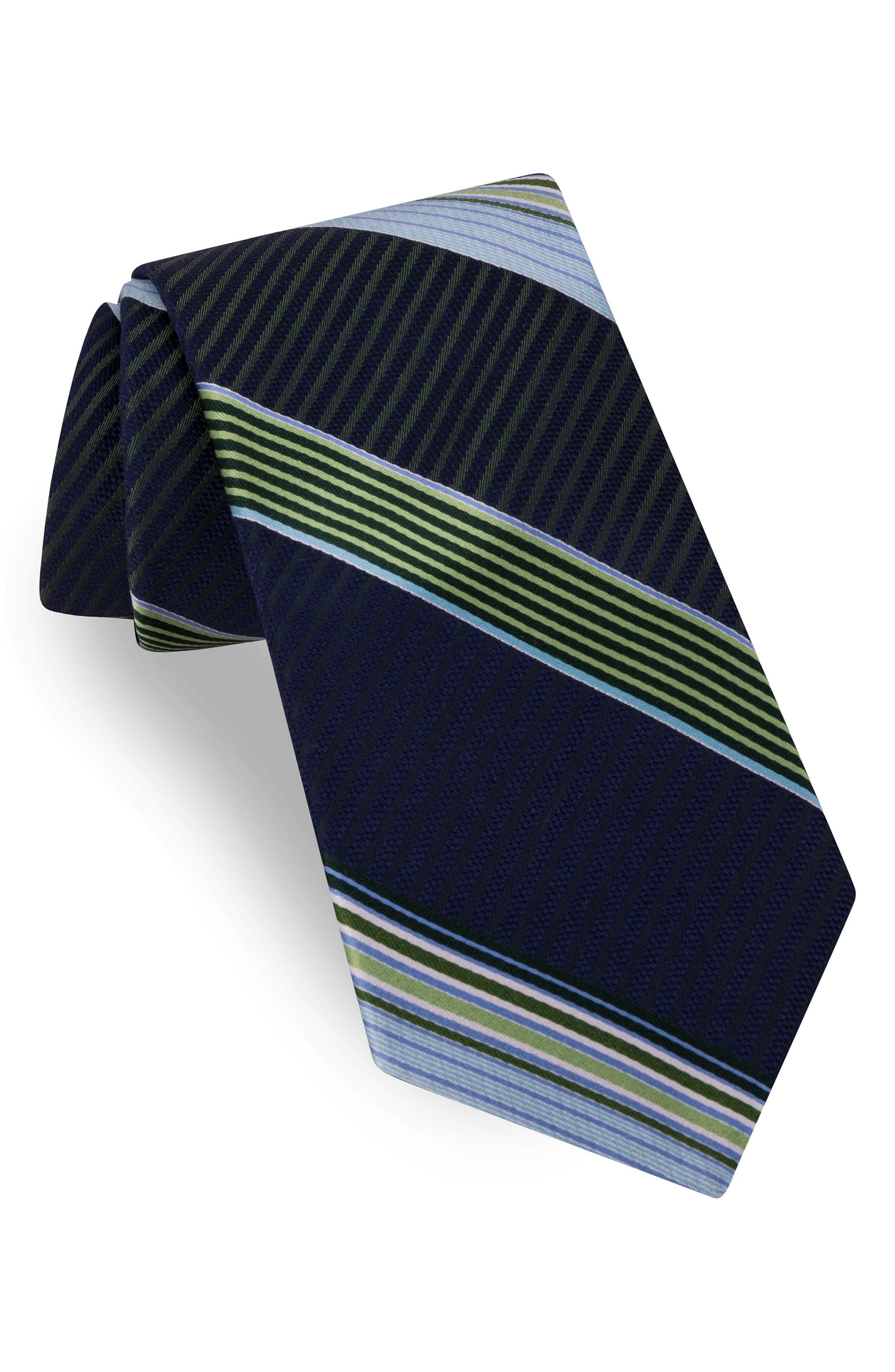 Aventura Stripe Silk Tie,                             Main thumbnail 2, color,