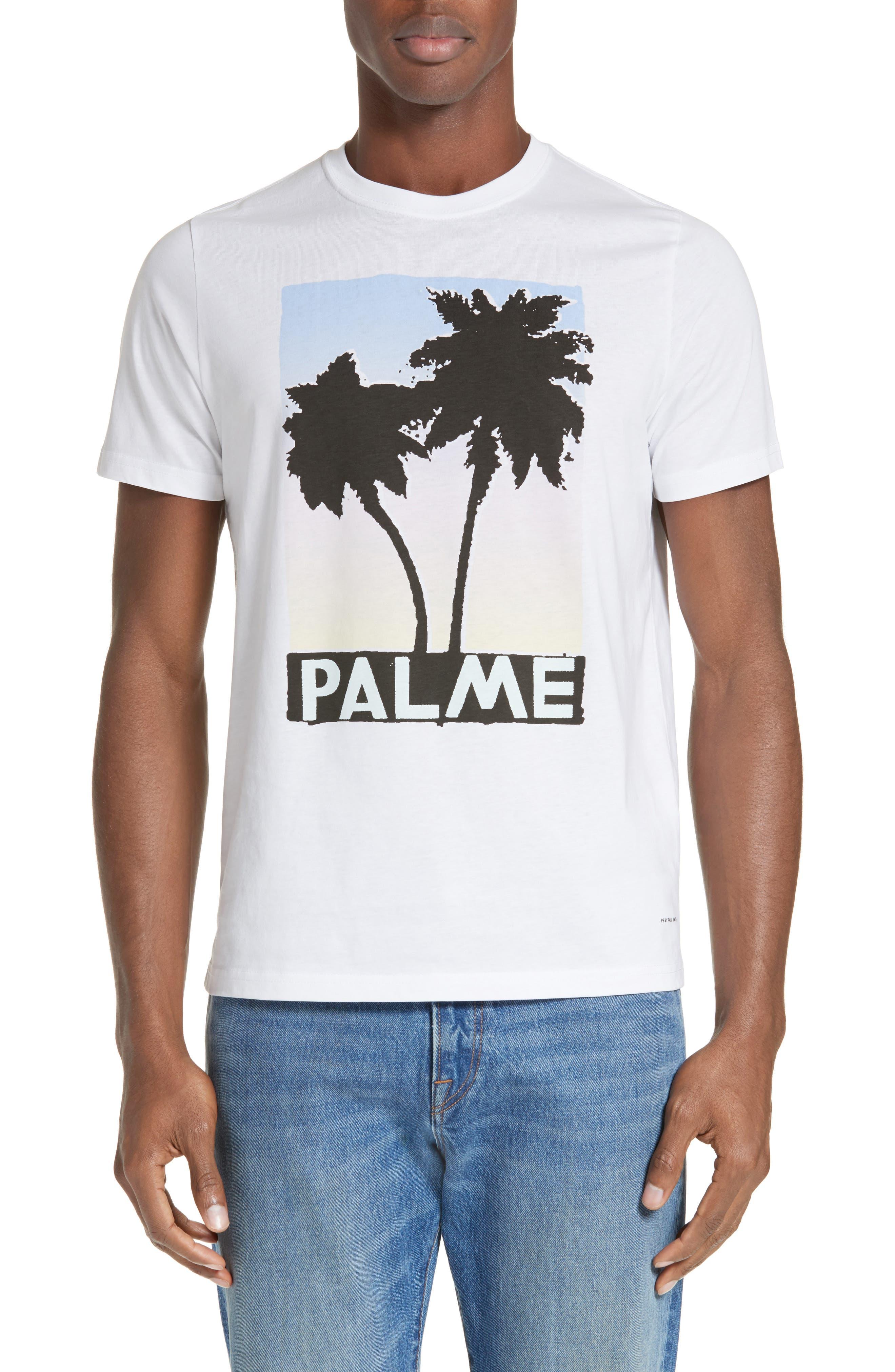 Palm Screen T-Shirt,                             Alternate thumbnail 2, color,