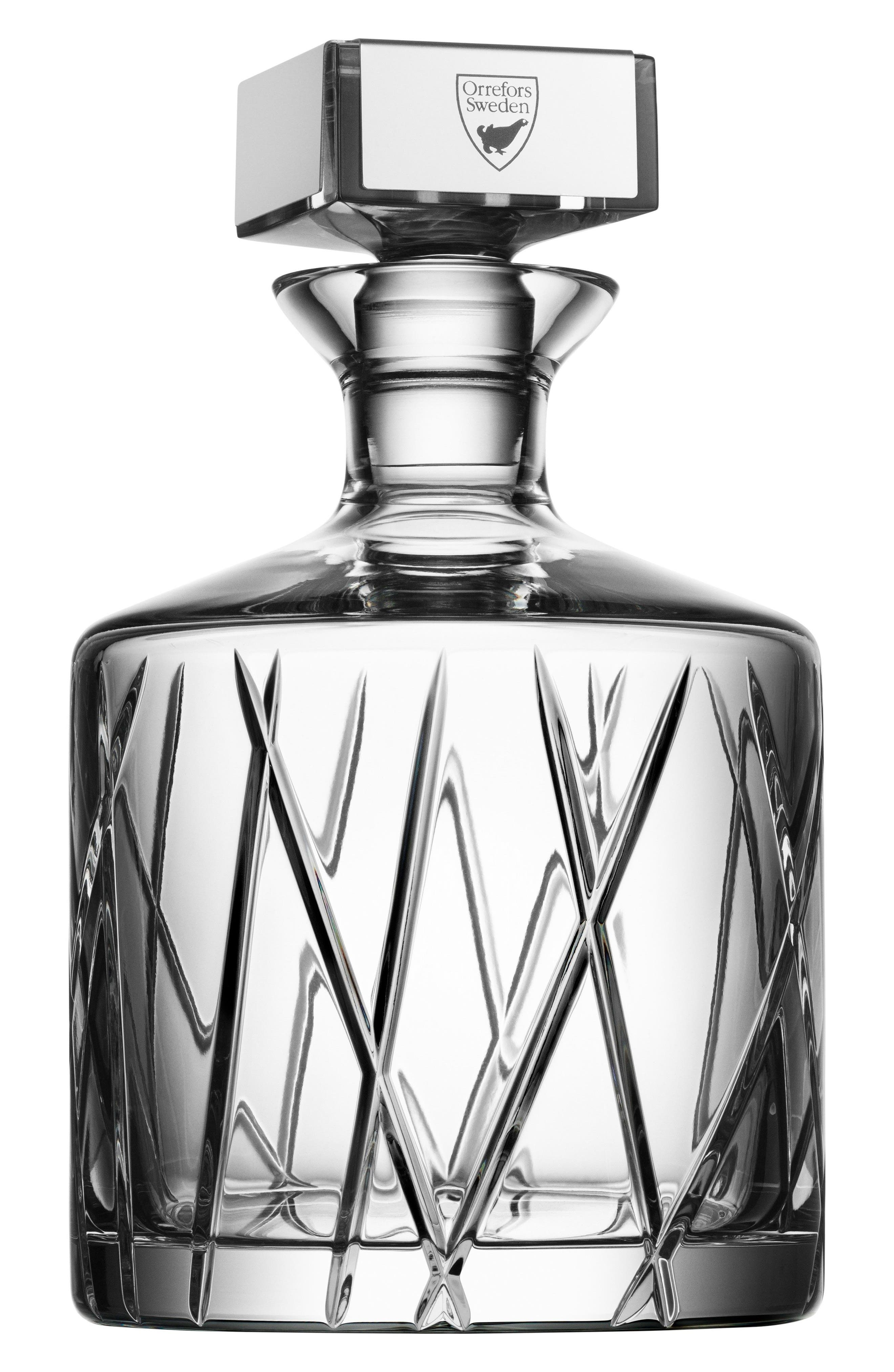 City Crystal Decanter,                         Main,                         color, 100