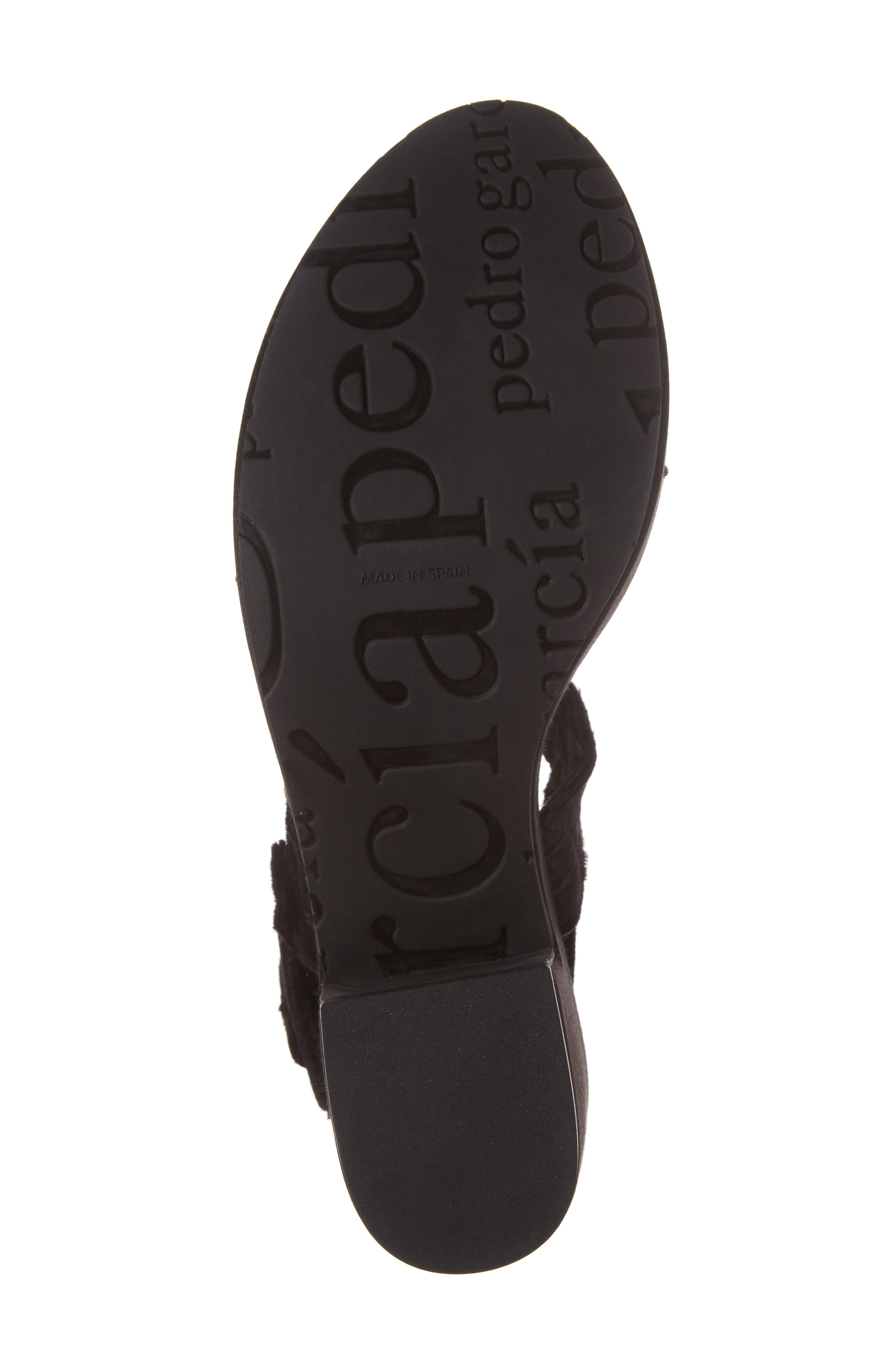 Decima Platform Sandal,                             Alternate thumbnail 6, color,                             001