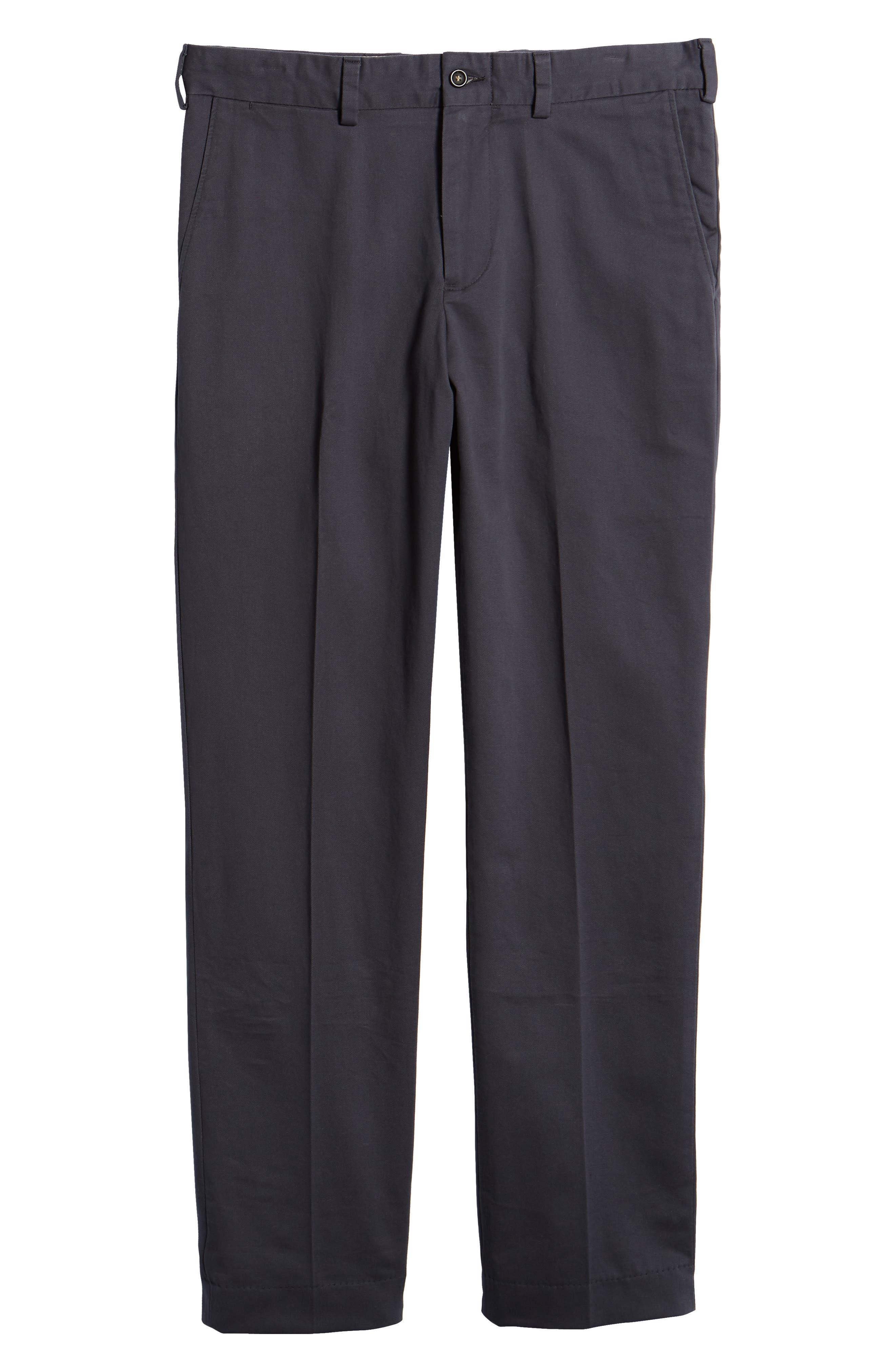 Straight Fit Vintage Twill Pants,                             Alternate thumbnail 6, color,                             410