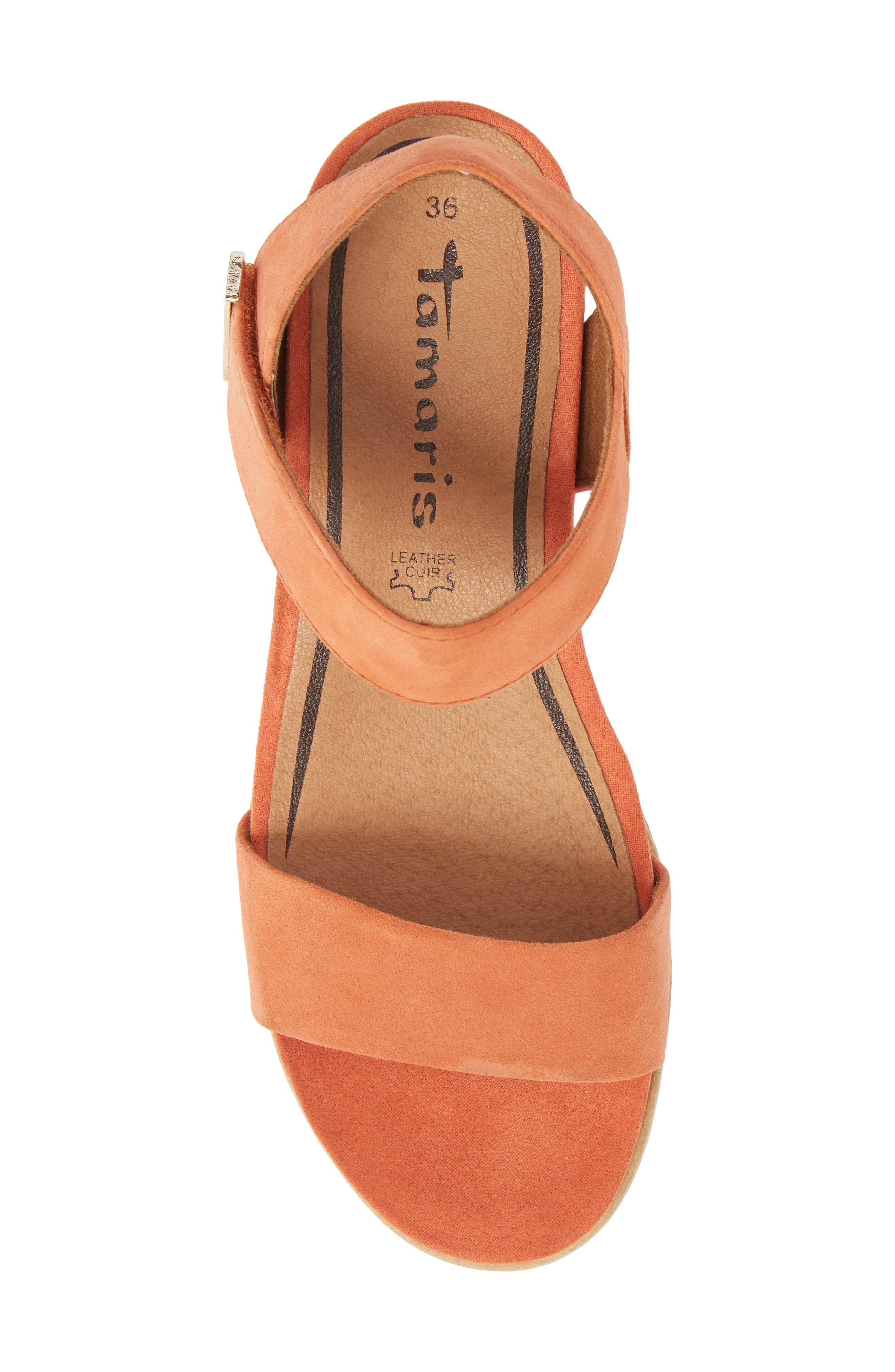 Cory Wedge Sandal,                             Alternate thumbnail 15, color,