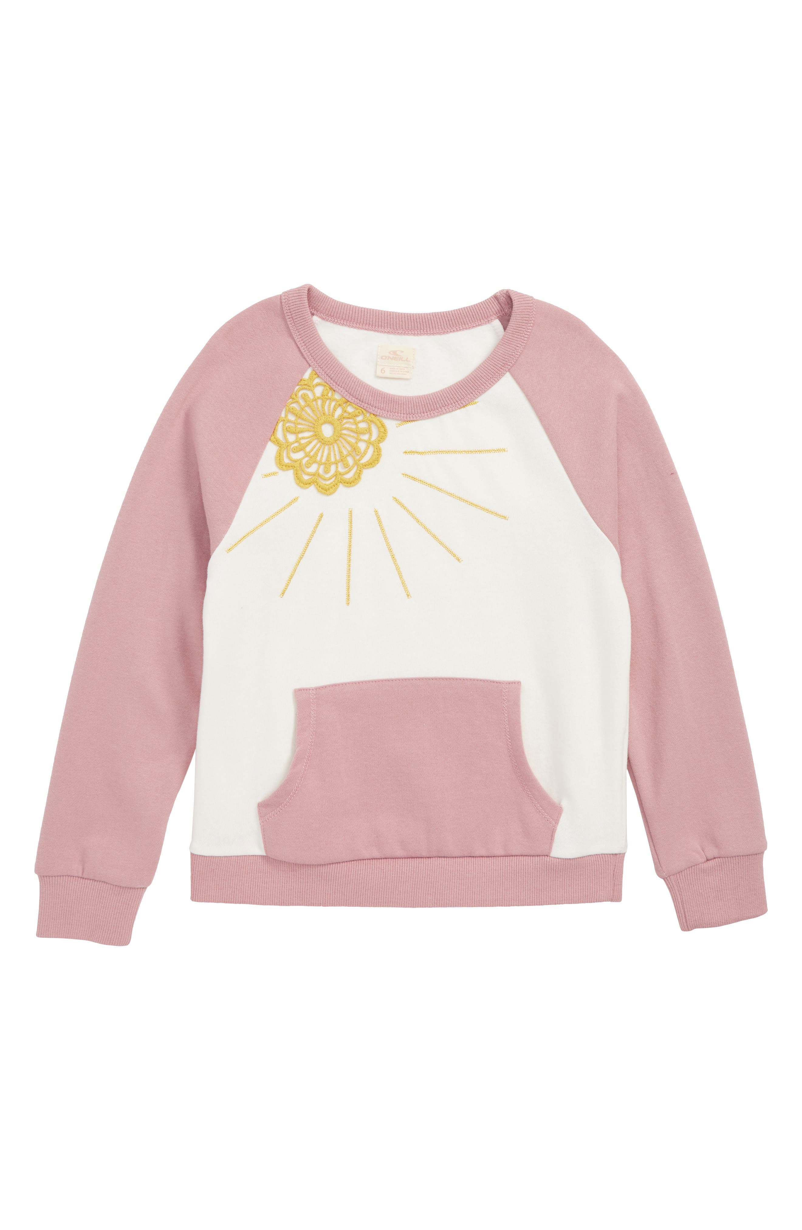 Sol Embroidered Sweatshirt,                         Main,                         color, 506