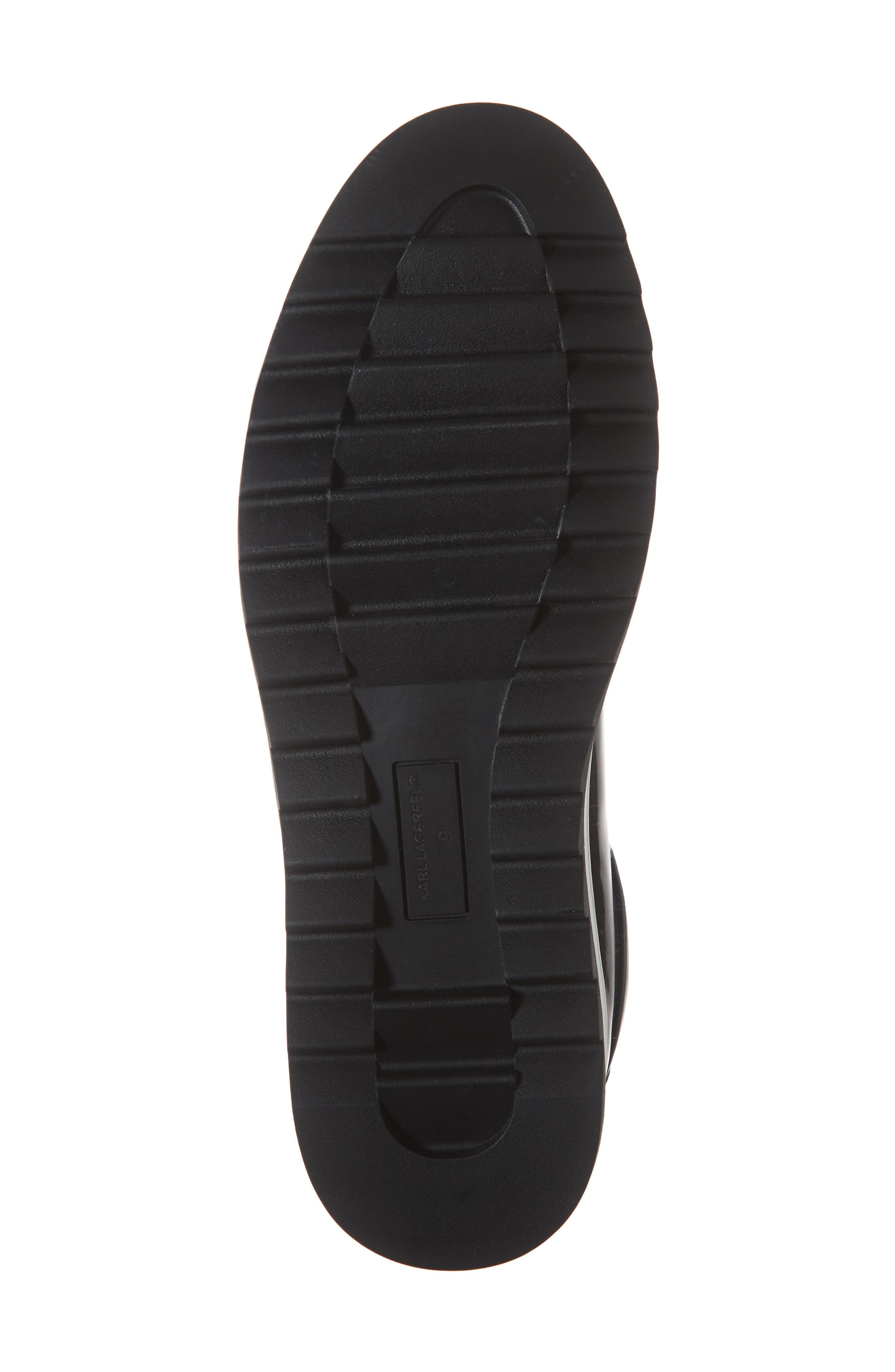 Box Inner Sock Sneaker,                             Alternate thumbnail 6, color,                             DARK GREY