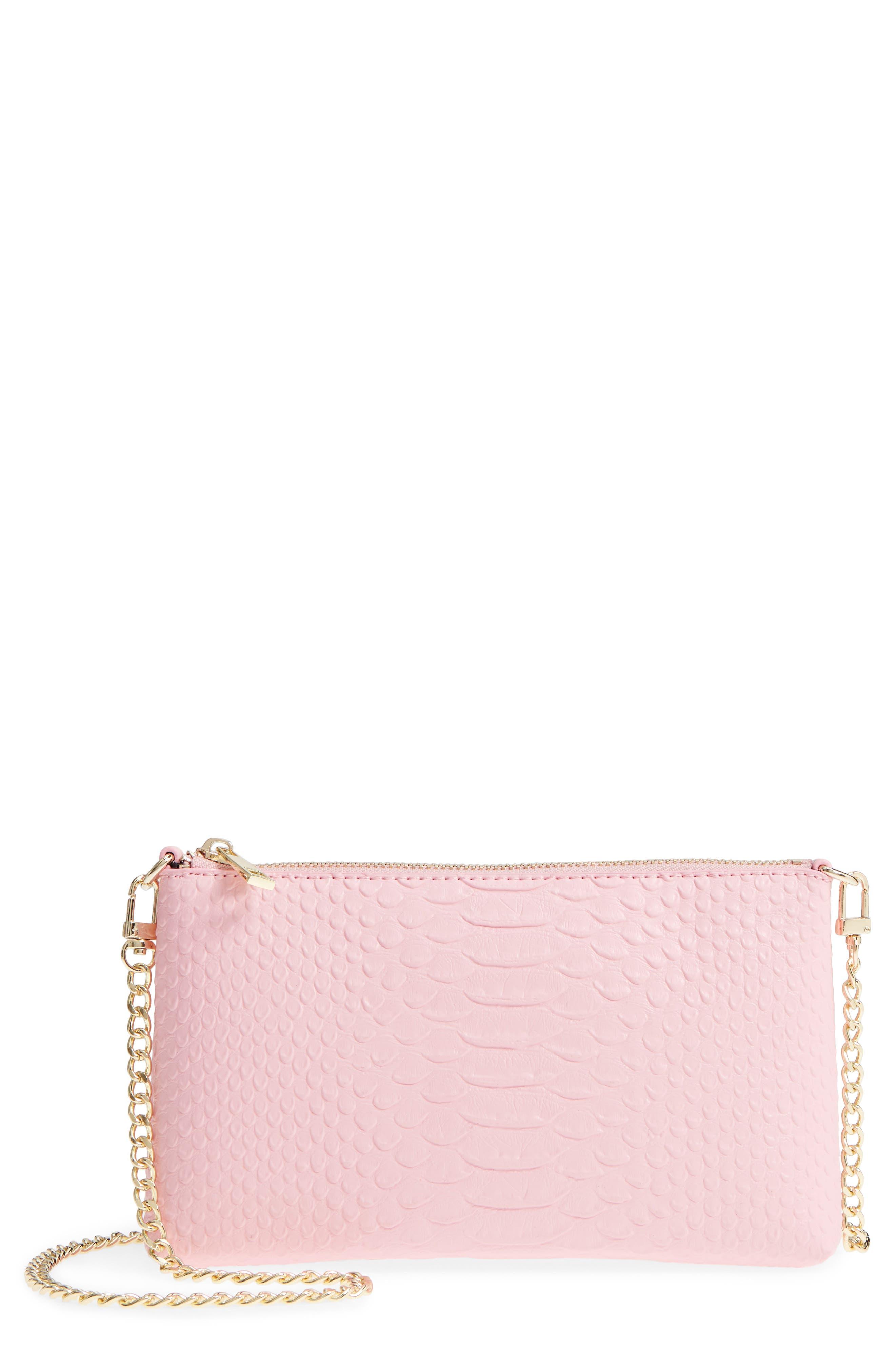 Lola Textured Faux Leather Crossbody Bag,                             Main thumbnail 2, color,