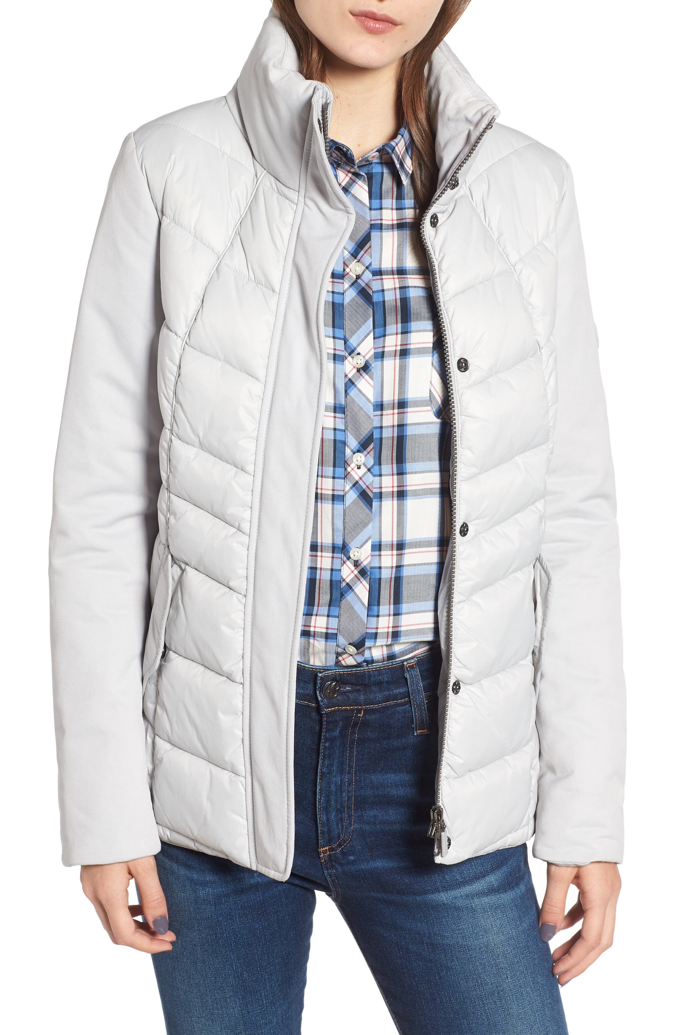 Barbour Hayle Quilted Jacket, US / 8 UK - White