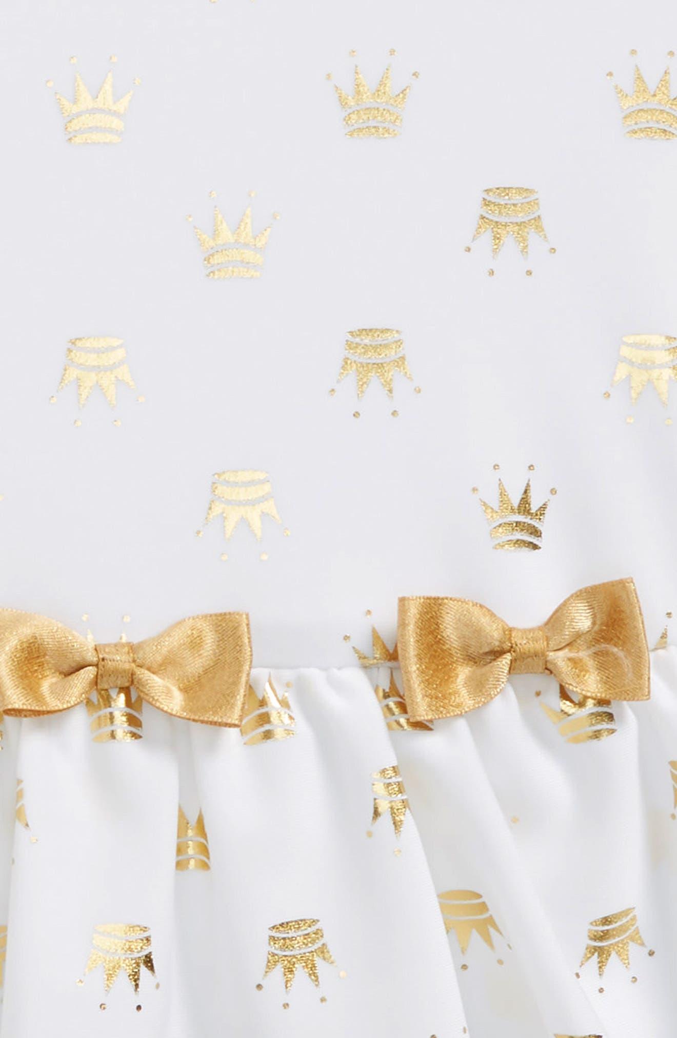 Gold Princess One-Piece Swimsuit,                             Alternate thumbnail 2, color,                             100