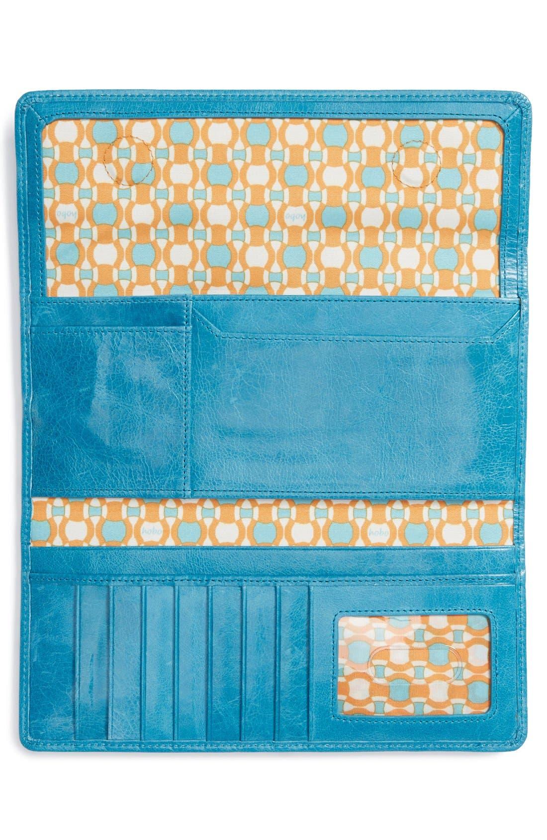 'Sadie' Leather Wallet,                             Alternate thumbnail 91, color,