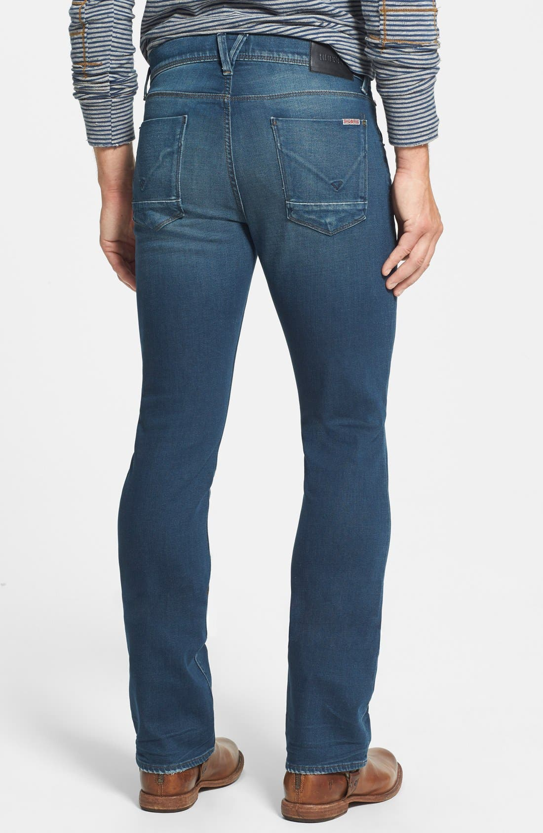 HUDSON JEANS,                             'Clifton' Bootcut Jeans,                             Alternate thumbnail 3, color,                             403
