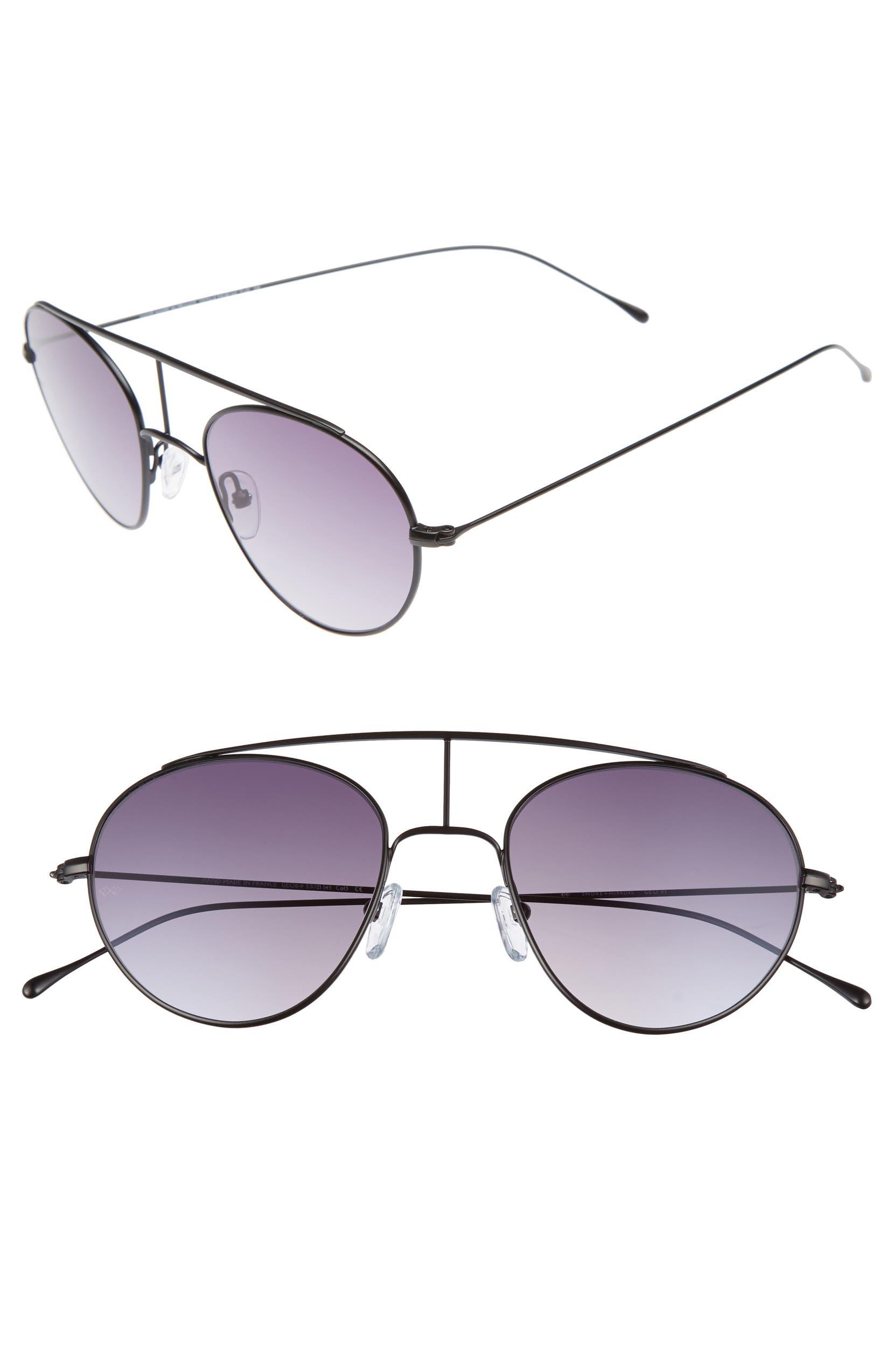 5ead2553da SMOKE X MIRRORS Geo 6 53mm Retro Sunglasses