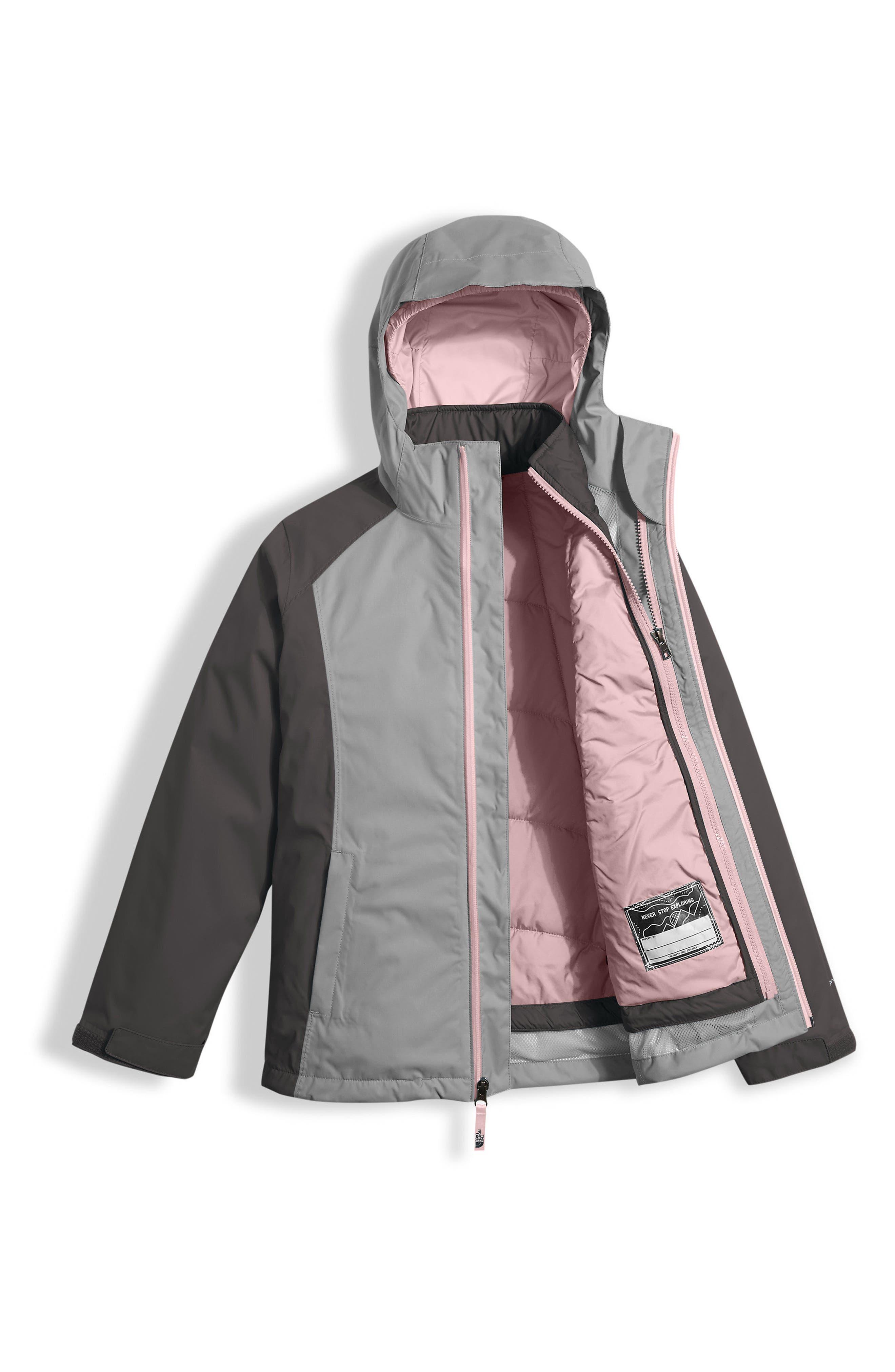 East Ridge Triclimate<sup>®</sup> Waterproof 3-in-1 Jacket,                             Alternate thumbnail 6, color,