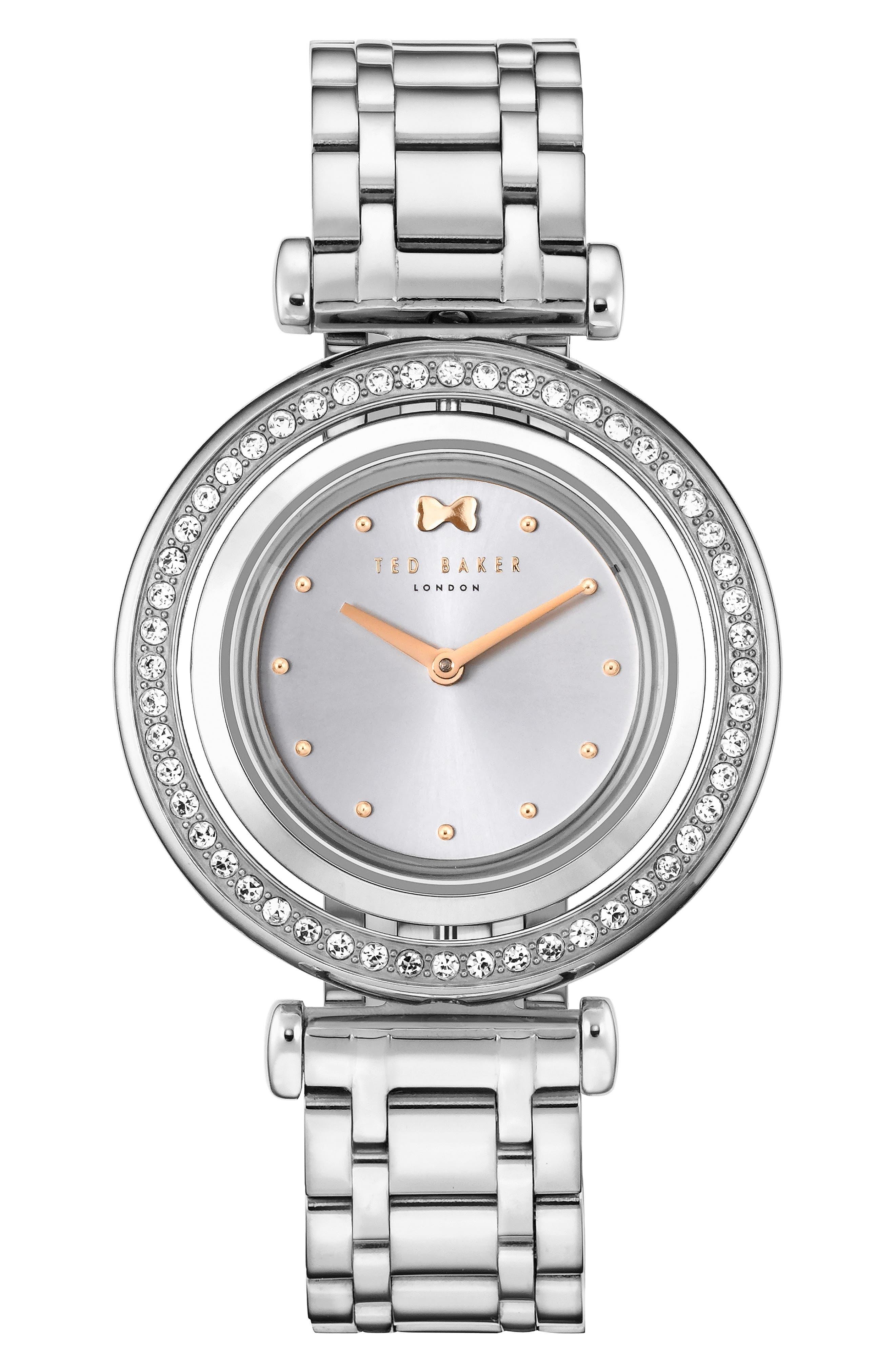 Brooke Slim Bracelet Watch, 34mm,                             Main thumbnail 1, color,                             040