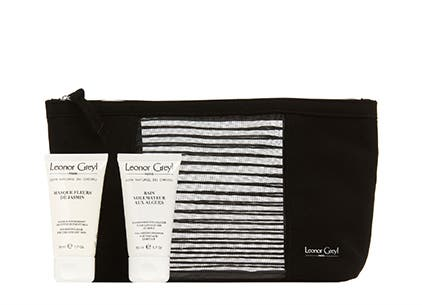 Leonor Greyl PARIS gift with purchase.