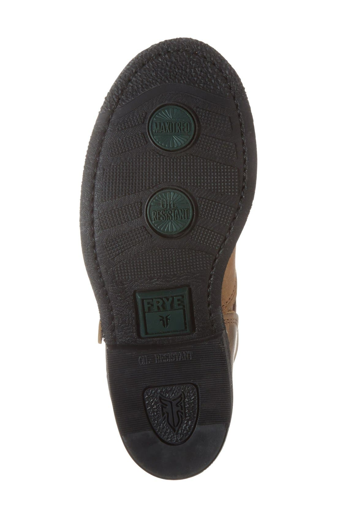 'Engineer 8R' Leather Boot,                             Alternate thumbnail 7, color,