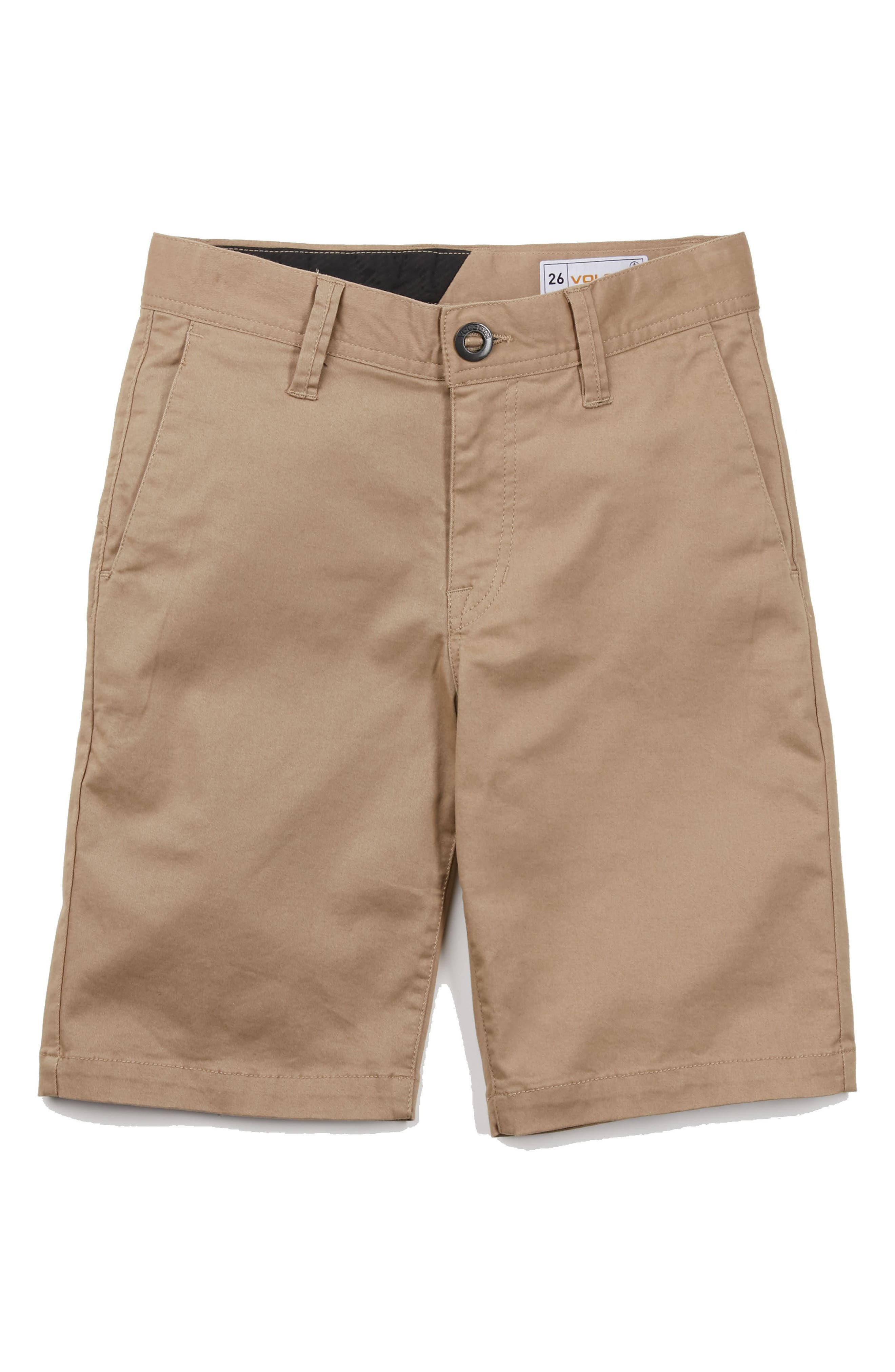 Cotton Twill Shorts,                         Main,                         color, 254
