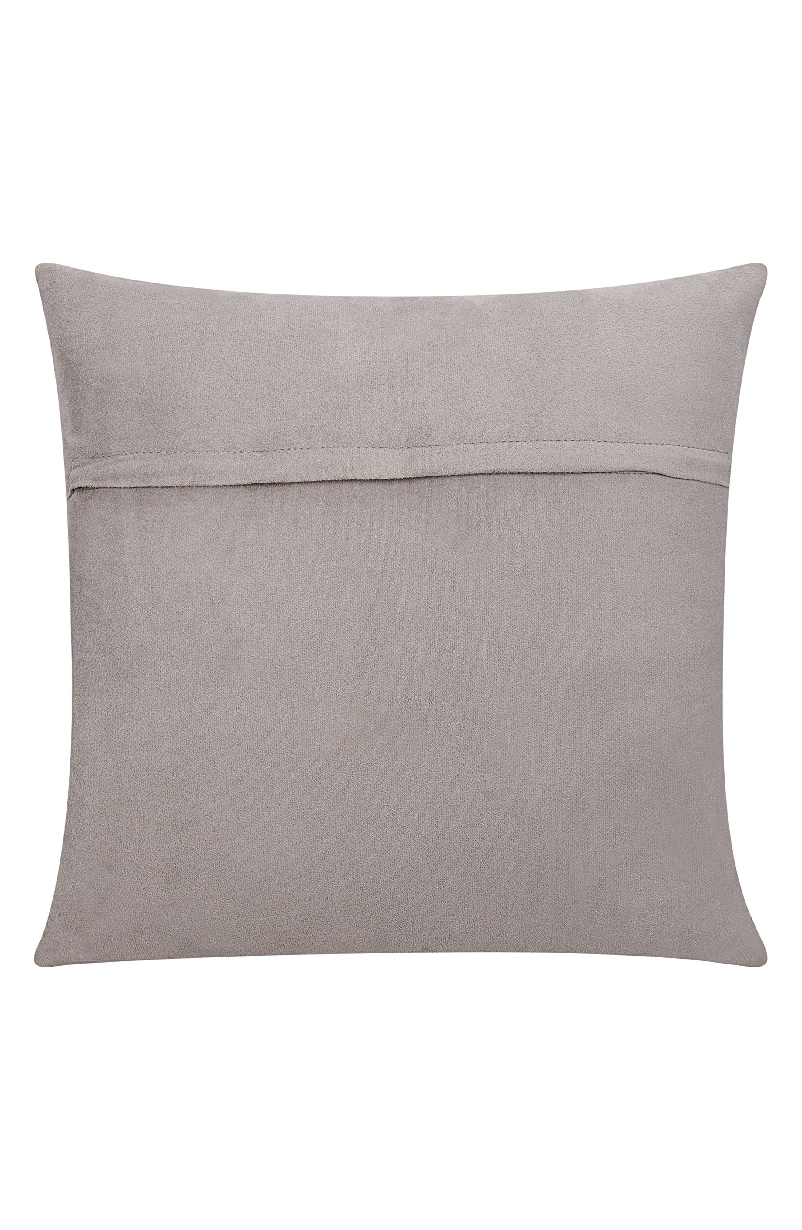 MINA VICTORY,                             Calf Hair Accent Pillow,                             Alternate thumbnail 2, color,                             062