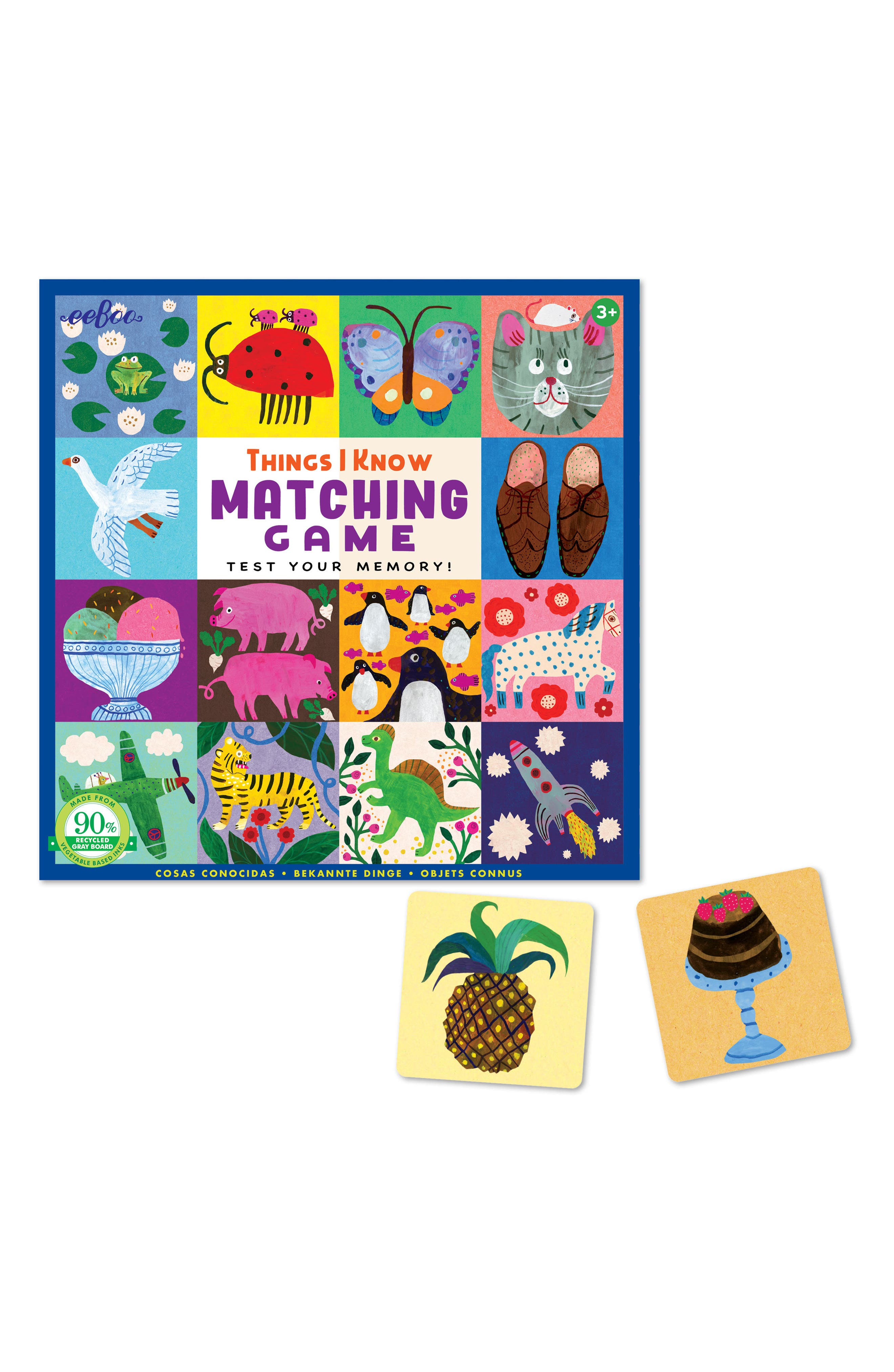 Matching Game,                             Alternate thumbnail 2, color,                             600