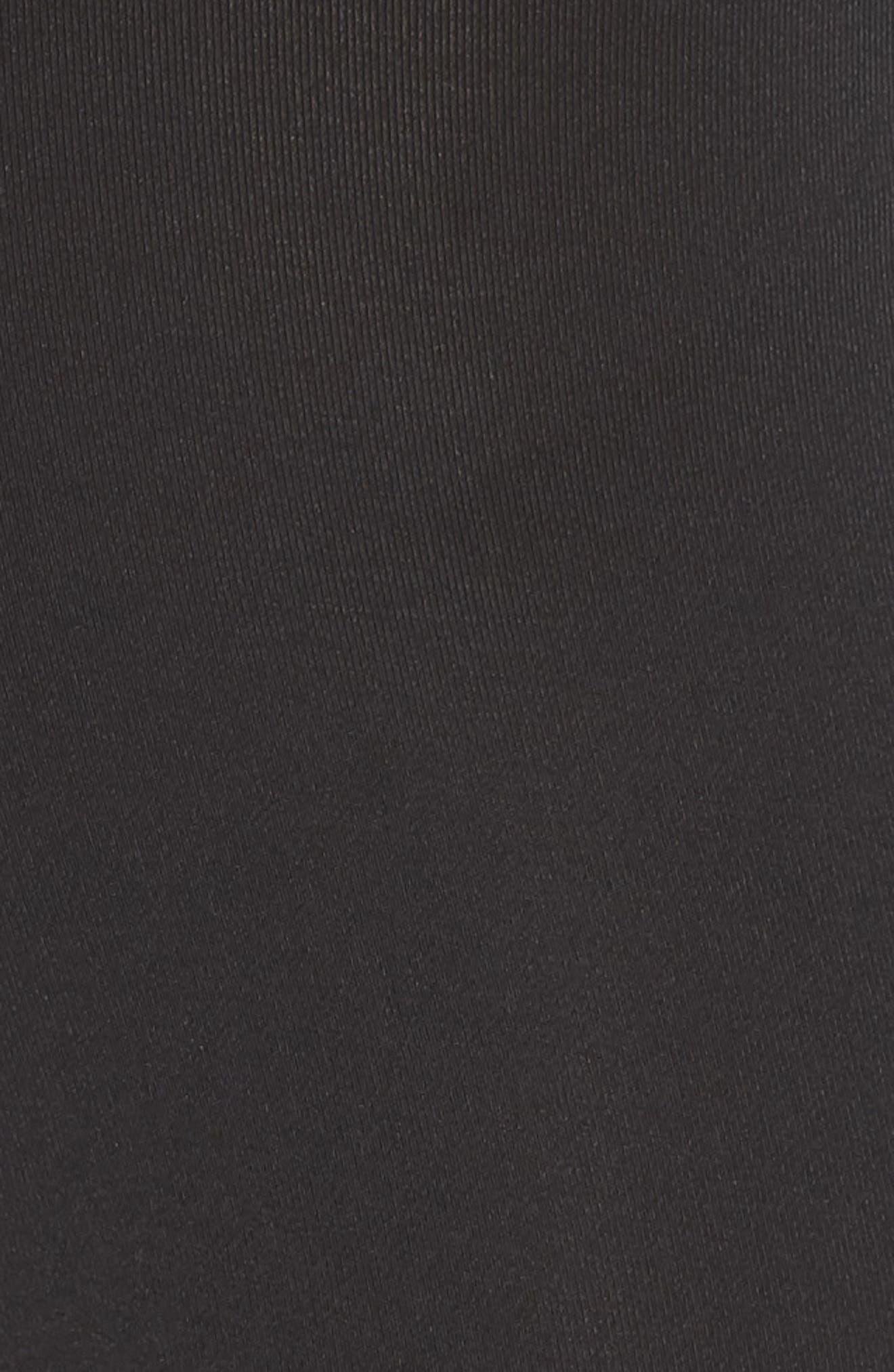 Pro Short Shorts,                             Alternate thumbnail 6, color,                             BLACK/ WHITE