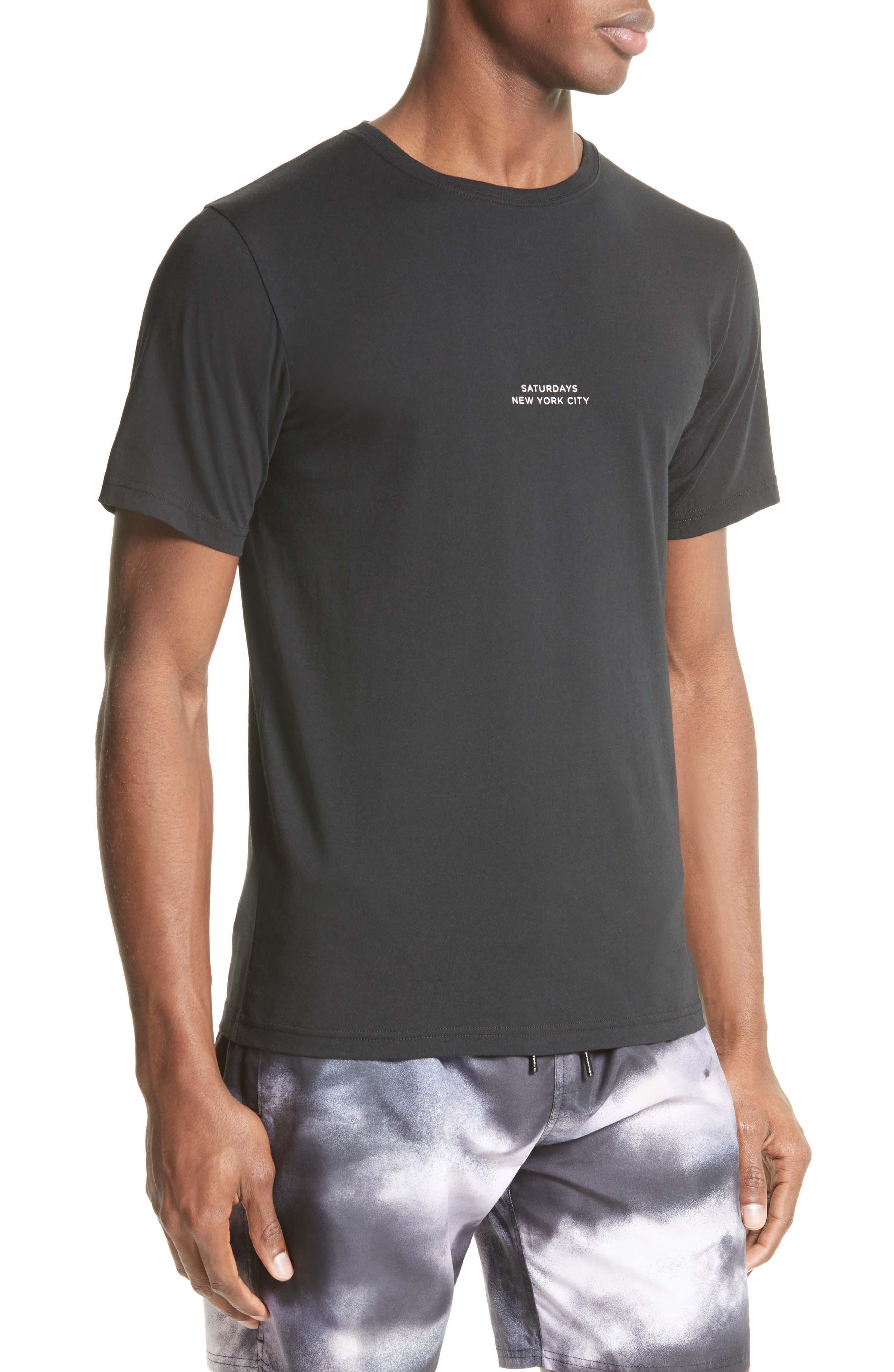 Gotham T-Shirt,                             Alternate thumbnail 3, color,                             001
