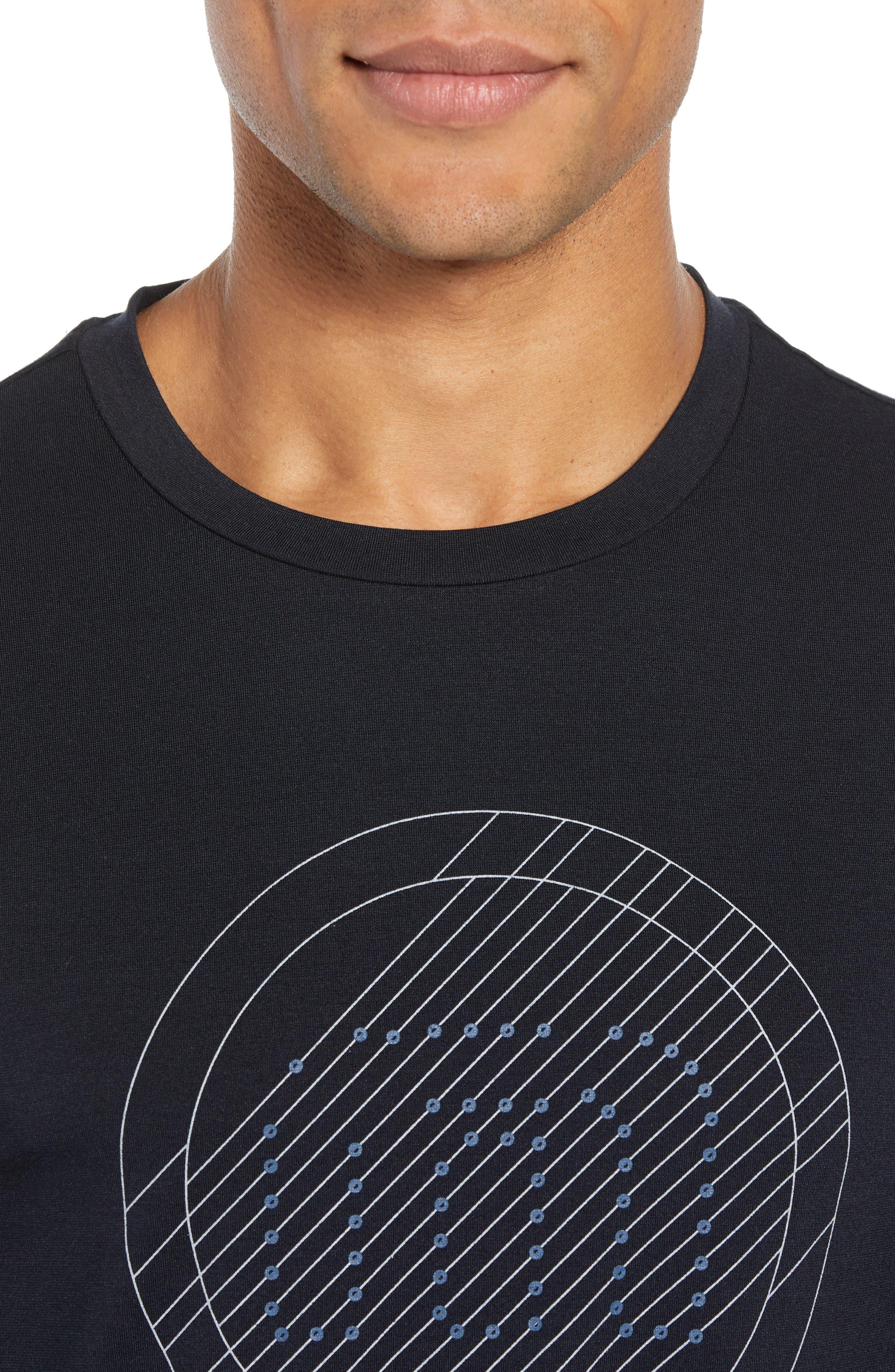 The Bias T-Shirt,                             Alternate thumbnail 4, color,                             BLACK