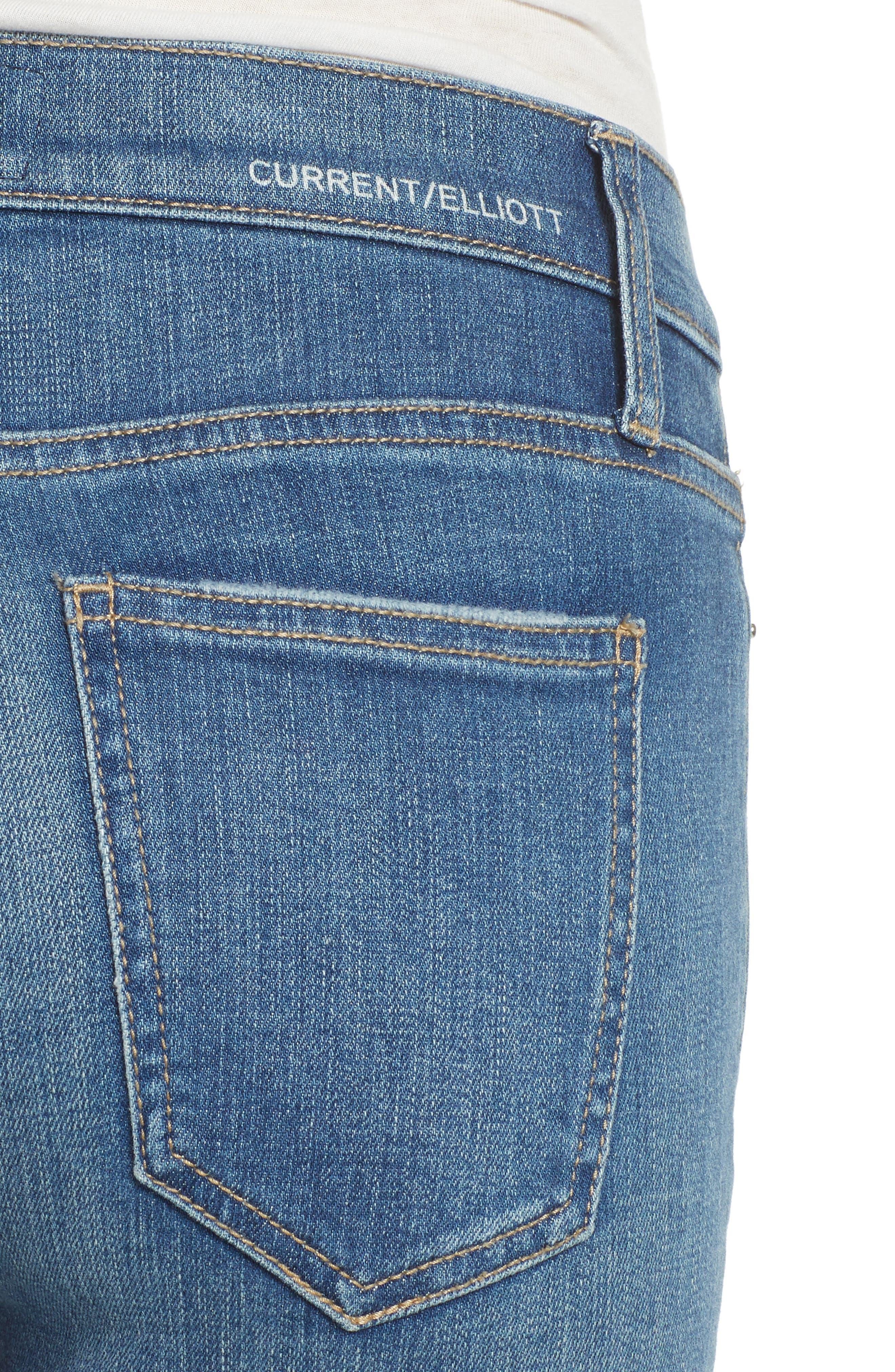The Stiletto Skinny Jeans,                             Alternate thumbnail 4, color,                             470