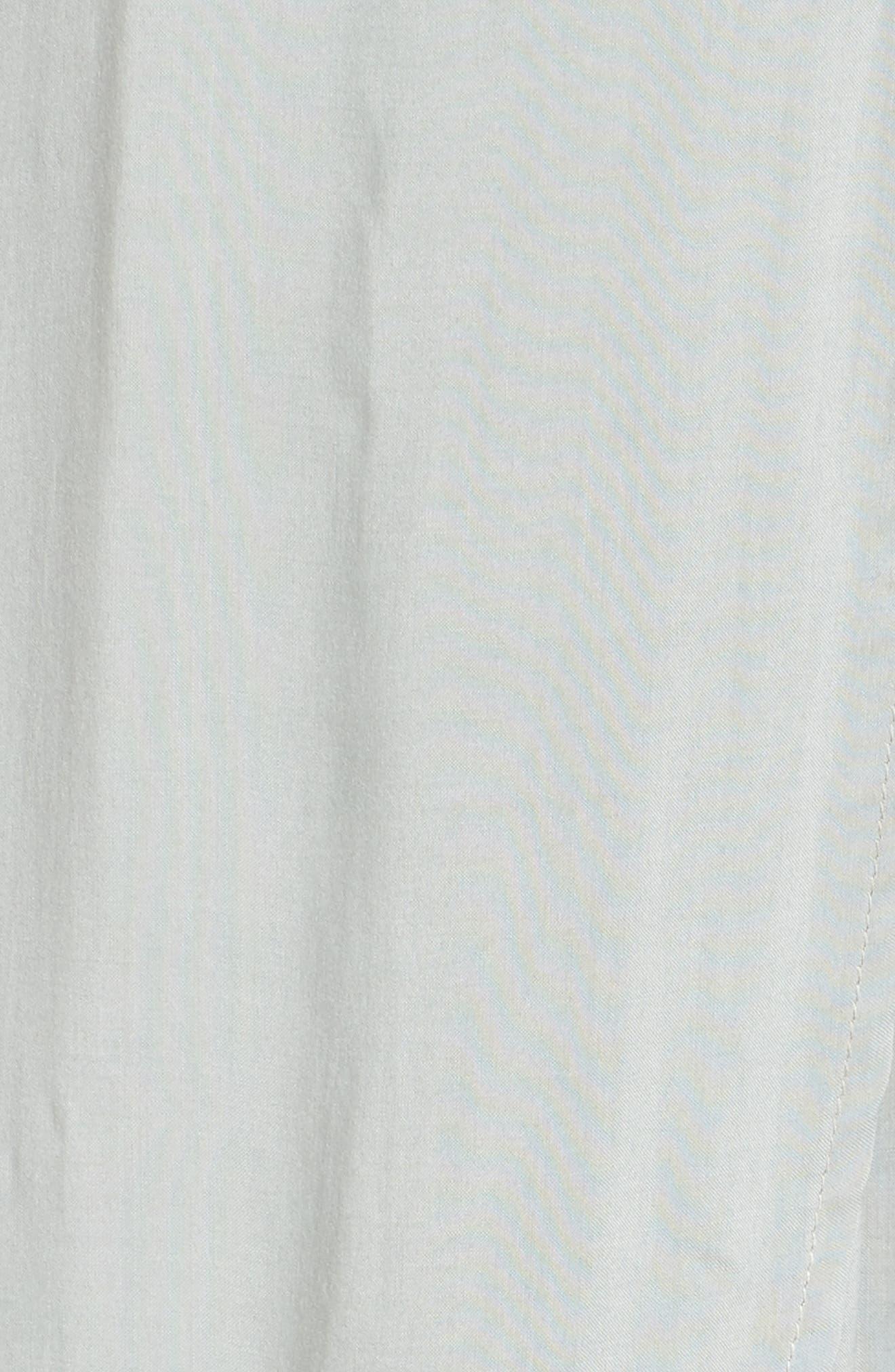 Wrap Maxi Cover-Up Dress,                             Alternate thumbnail 10, color,