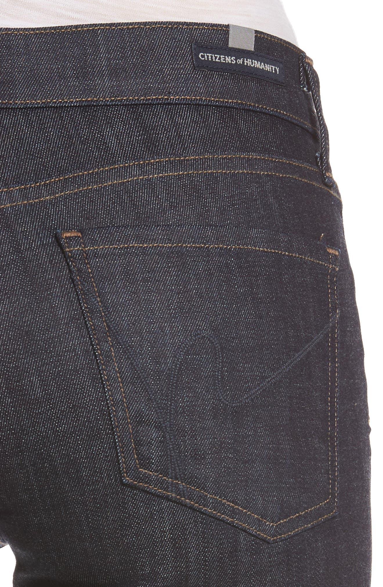 Emannuelle Bootcut Jeans,                             Alternate thumbnail 4, color,                             403