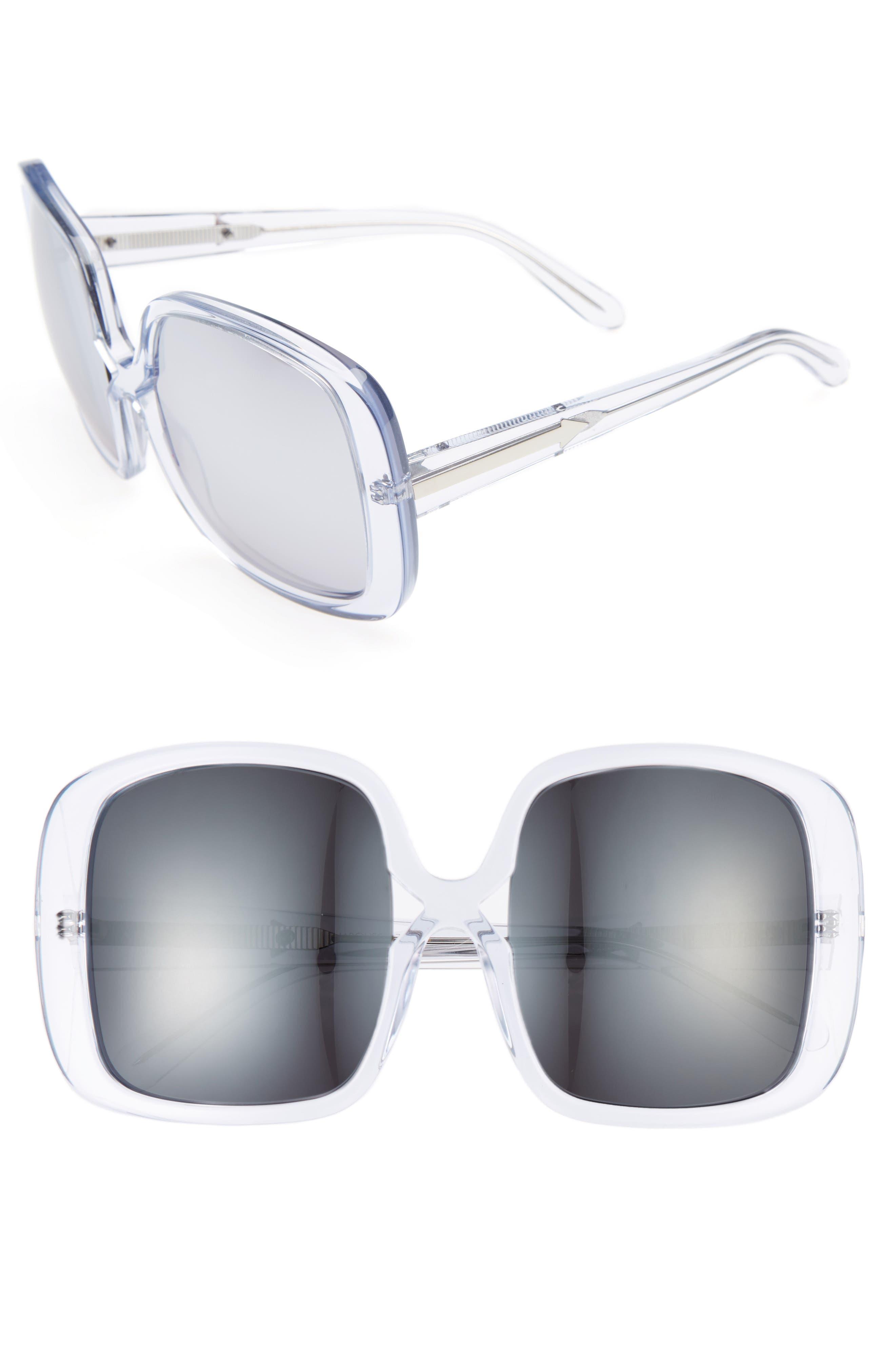 Marques 55mm Square Sunglasses,                             Main thumbnail 1, color,                             040