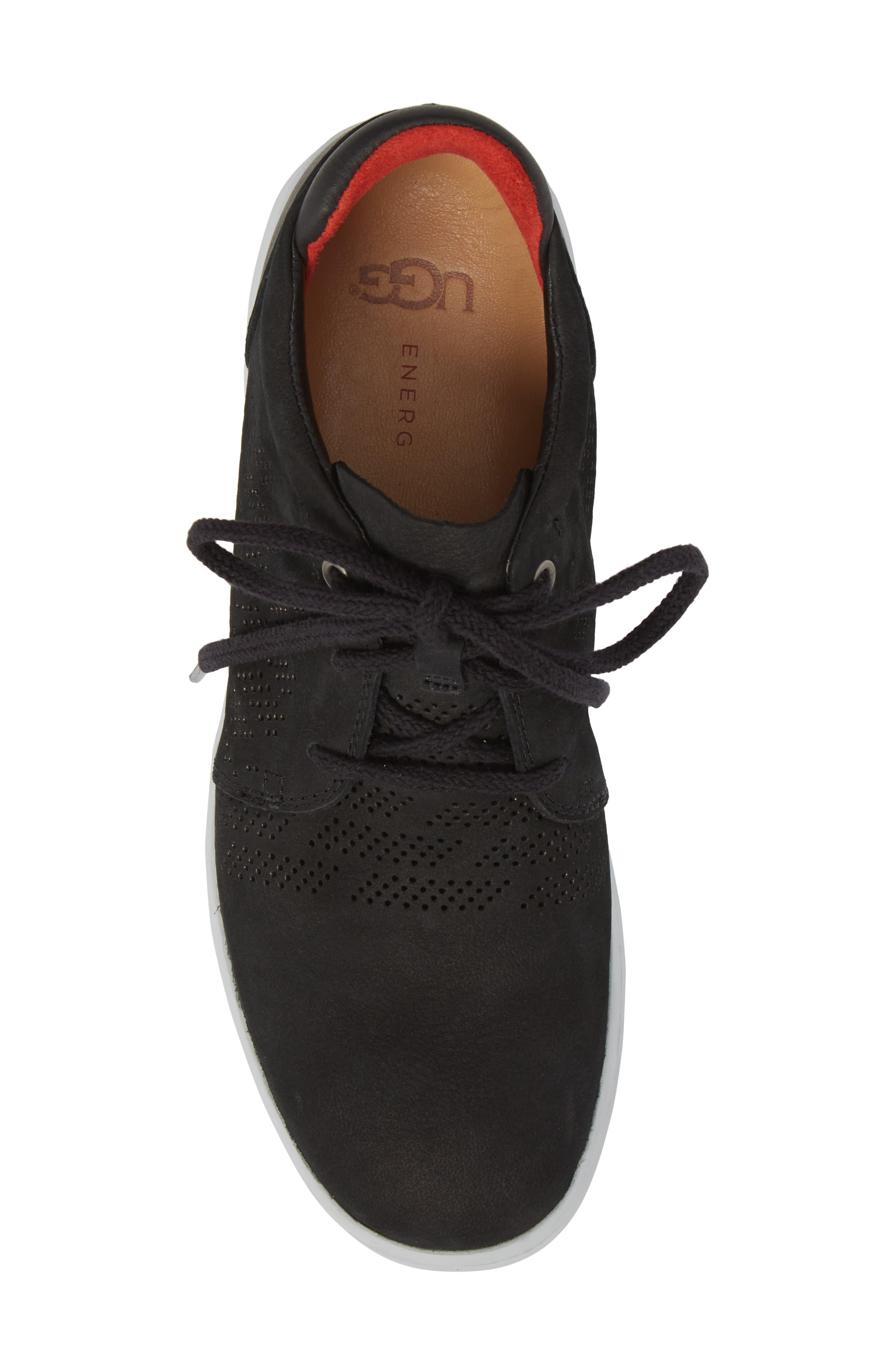 UGG<SUP>®</SUP>,                             Larken Chukka Sneaker,                             Alternate thumbnail 5, color,                             001