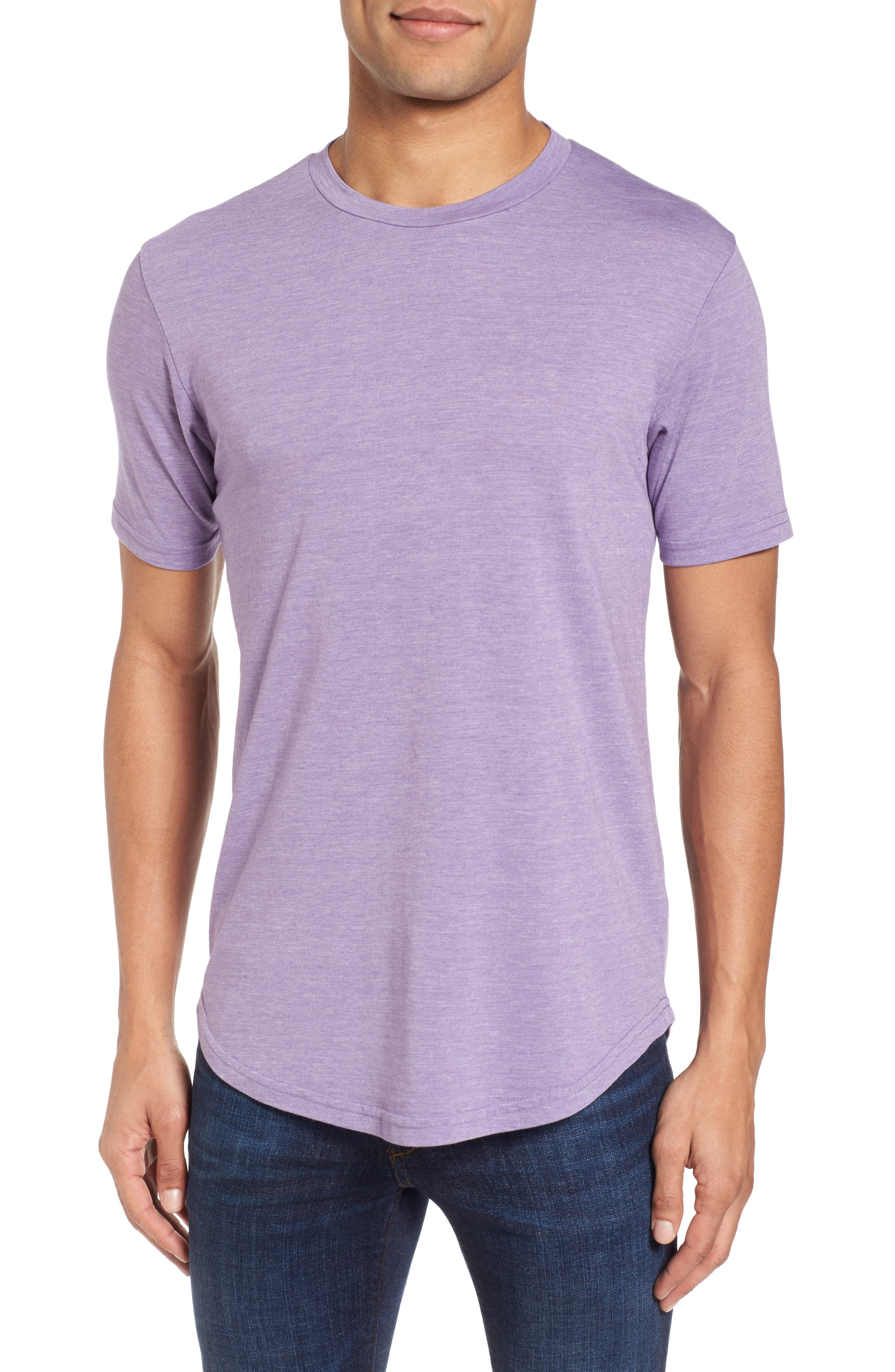 Scallop Triblend Crewneck T-Shirt,                             Main thumbnail 11, color,