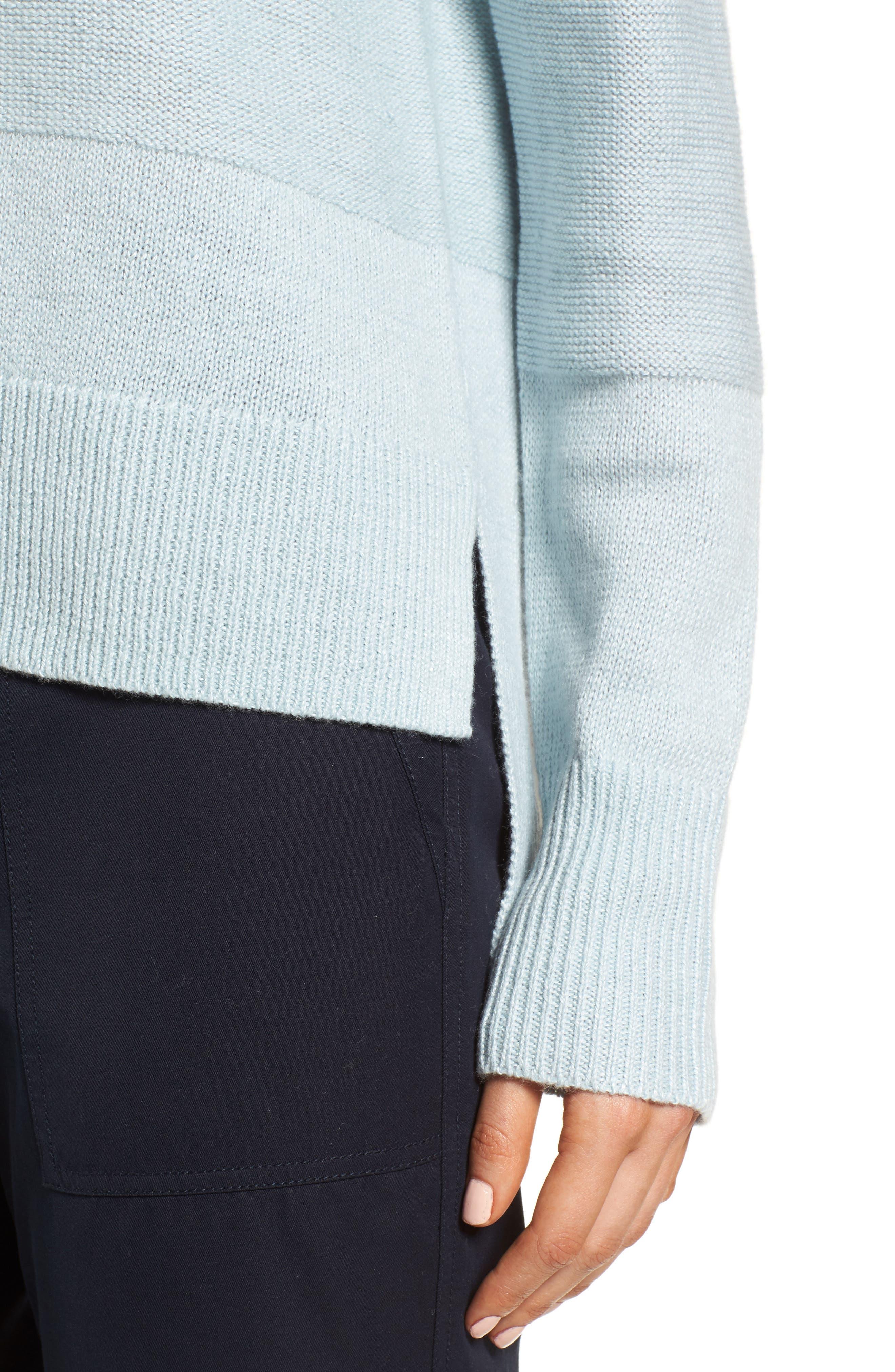 Linen & Cashmere Sweater,                             Alternate thumbnail 7, color,